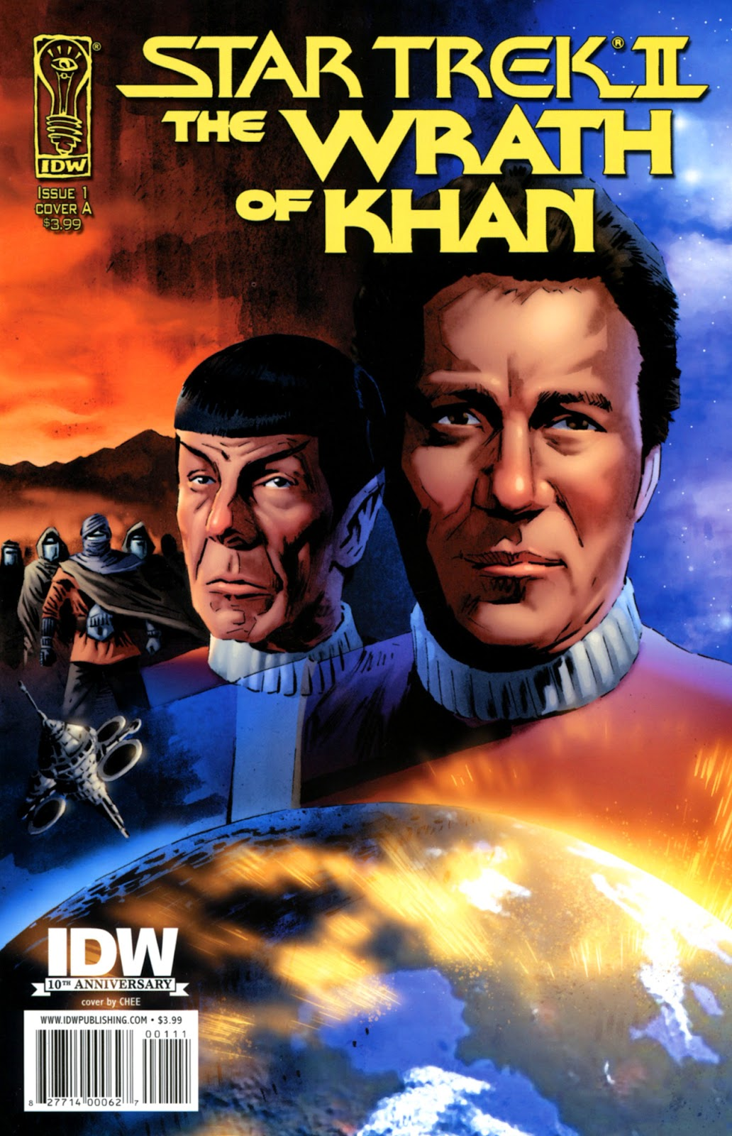 Star Trek II: The Wrath of Khan issue 1 - Page 1