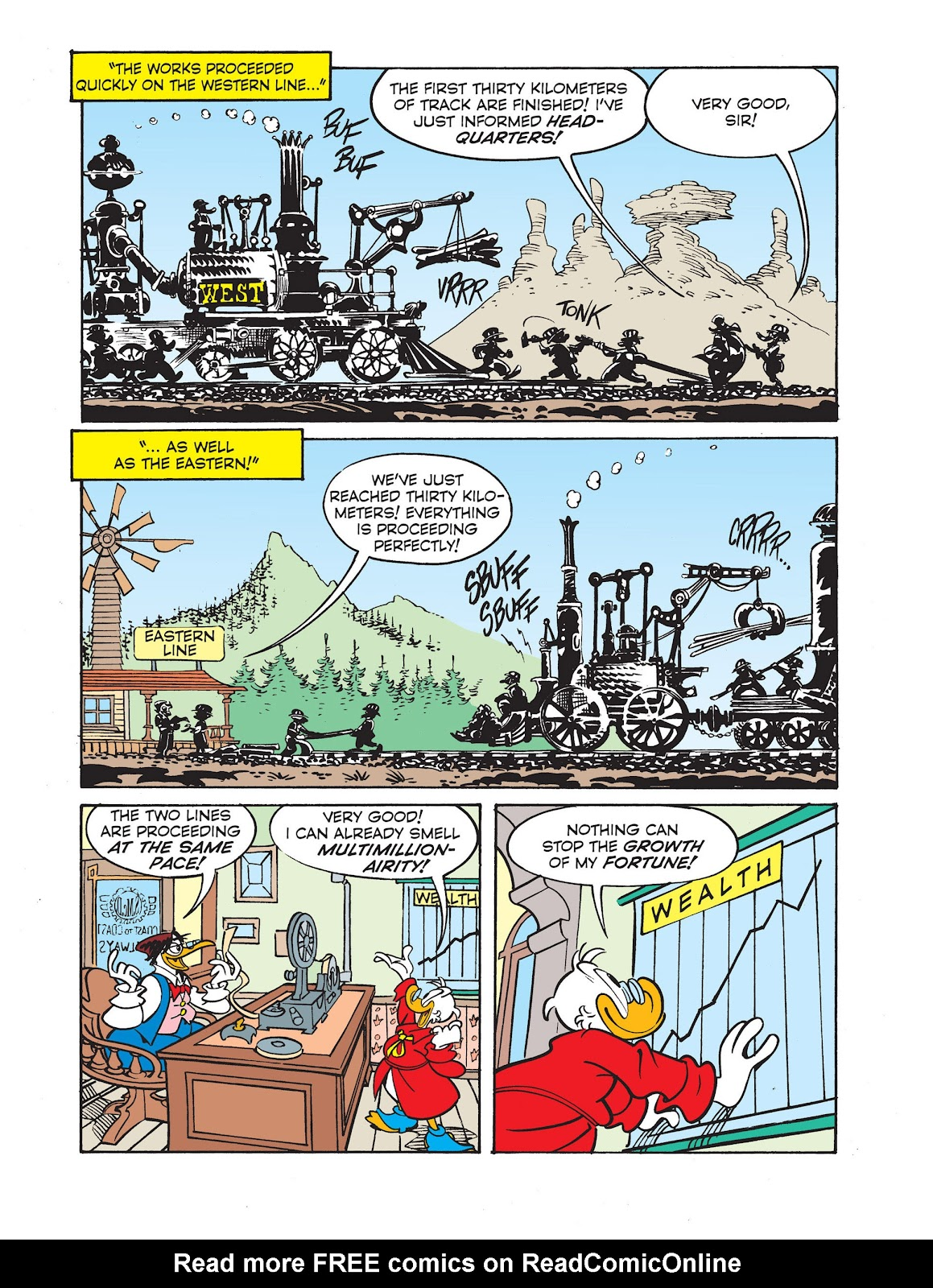 All of Scrooge McDuck's Millions Issue #2 #2 - English 16