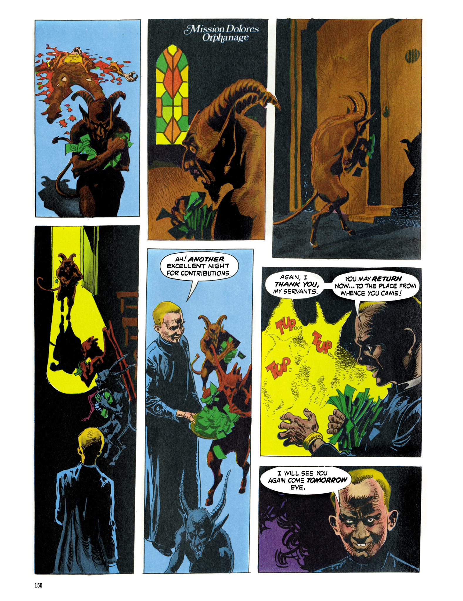 Read online Eerie Archives comic -  Issue # TPB 16 - 151