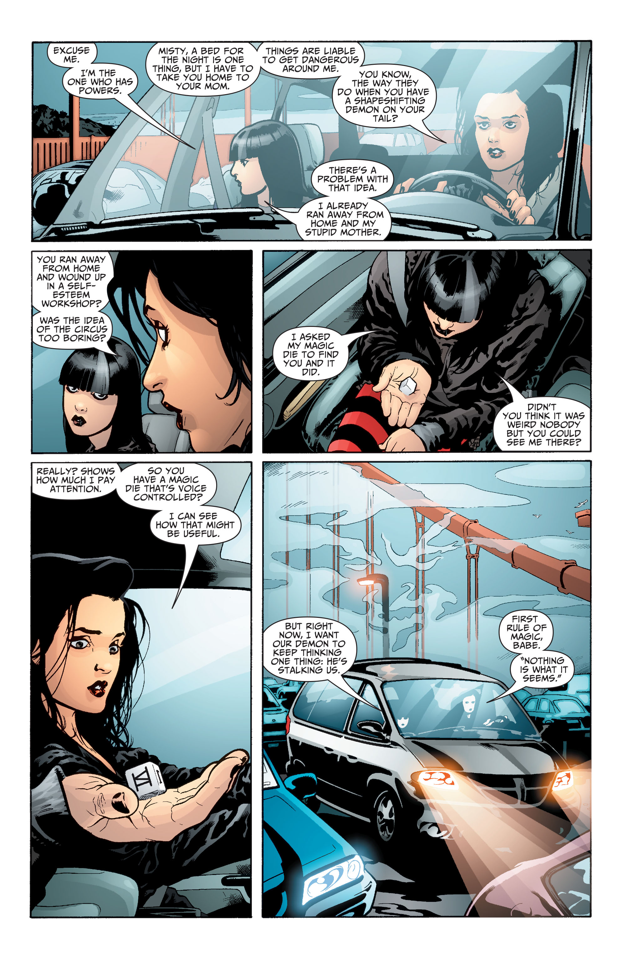 Read online Seven Soldiers: Zatanna comic -  Issue #2 - 4