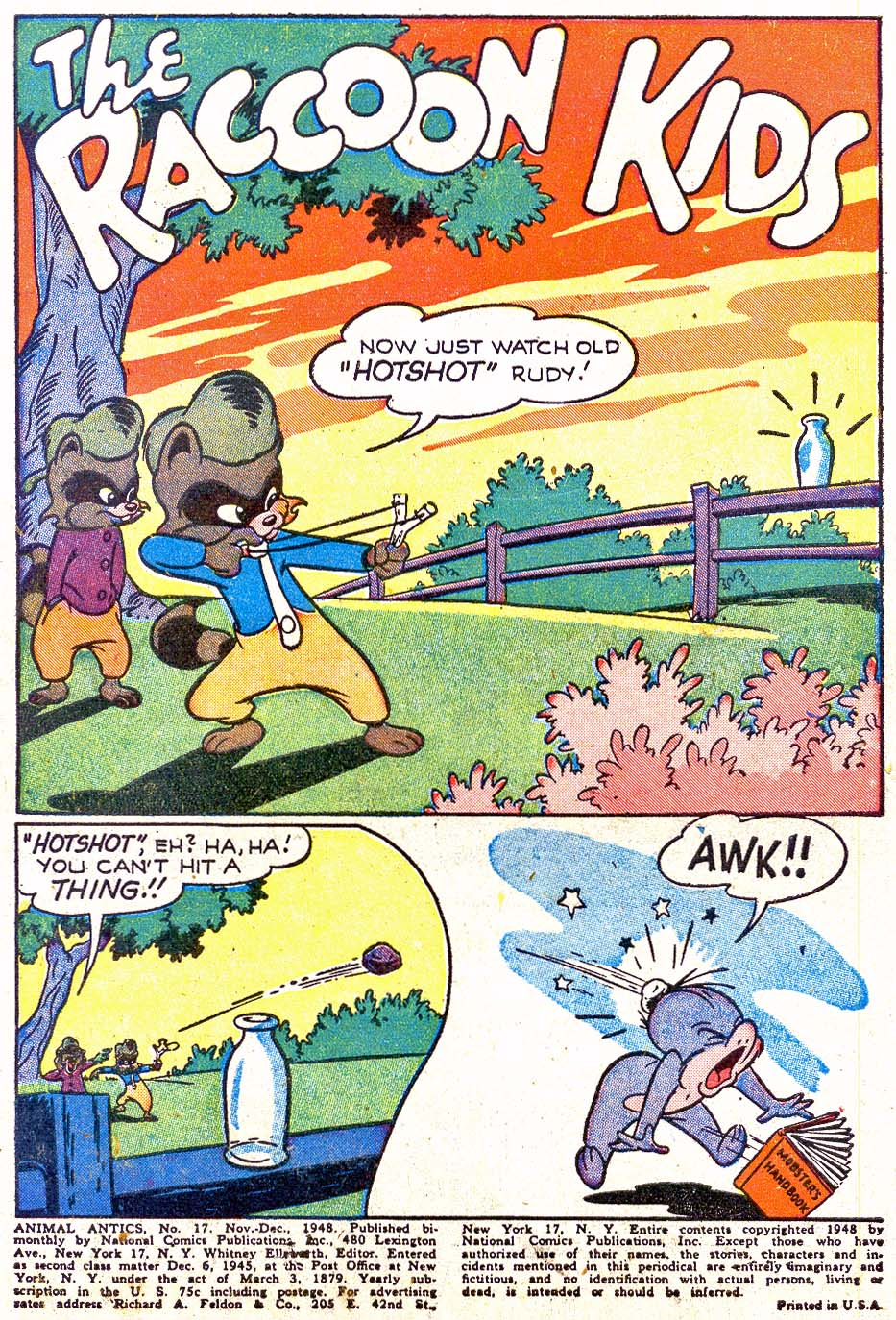 Read online Animal Antics comic -  Issue #17 - 3