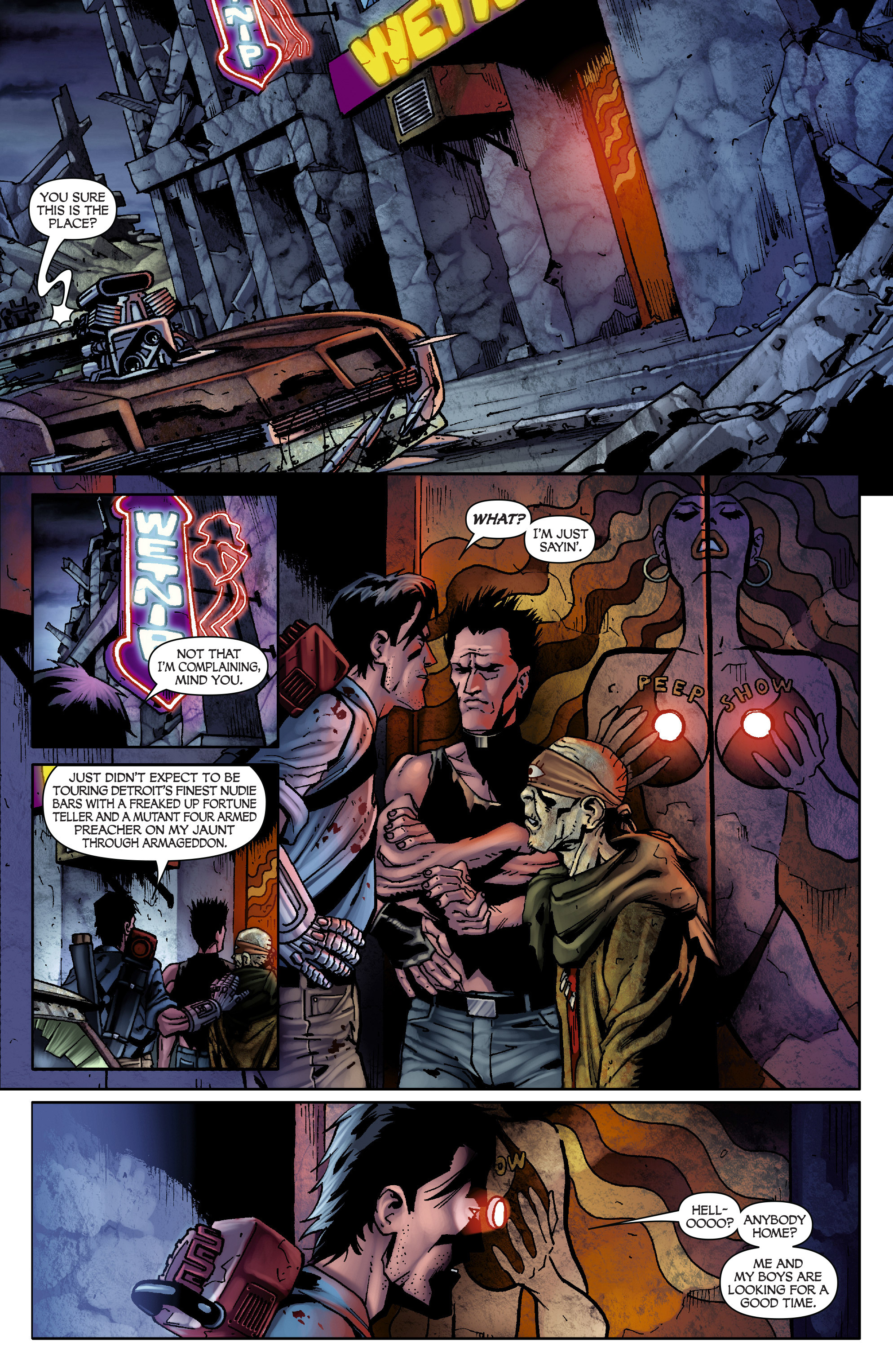 Read online Army of Darkness: From the Ashes comic -  Issue #Army of Darkness: From the Ashes TPB - 64
