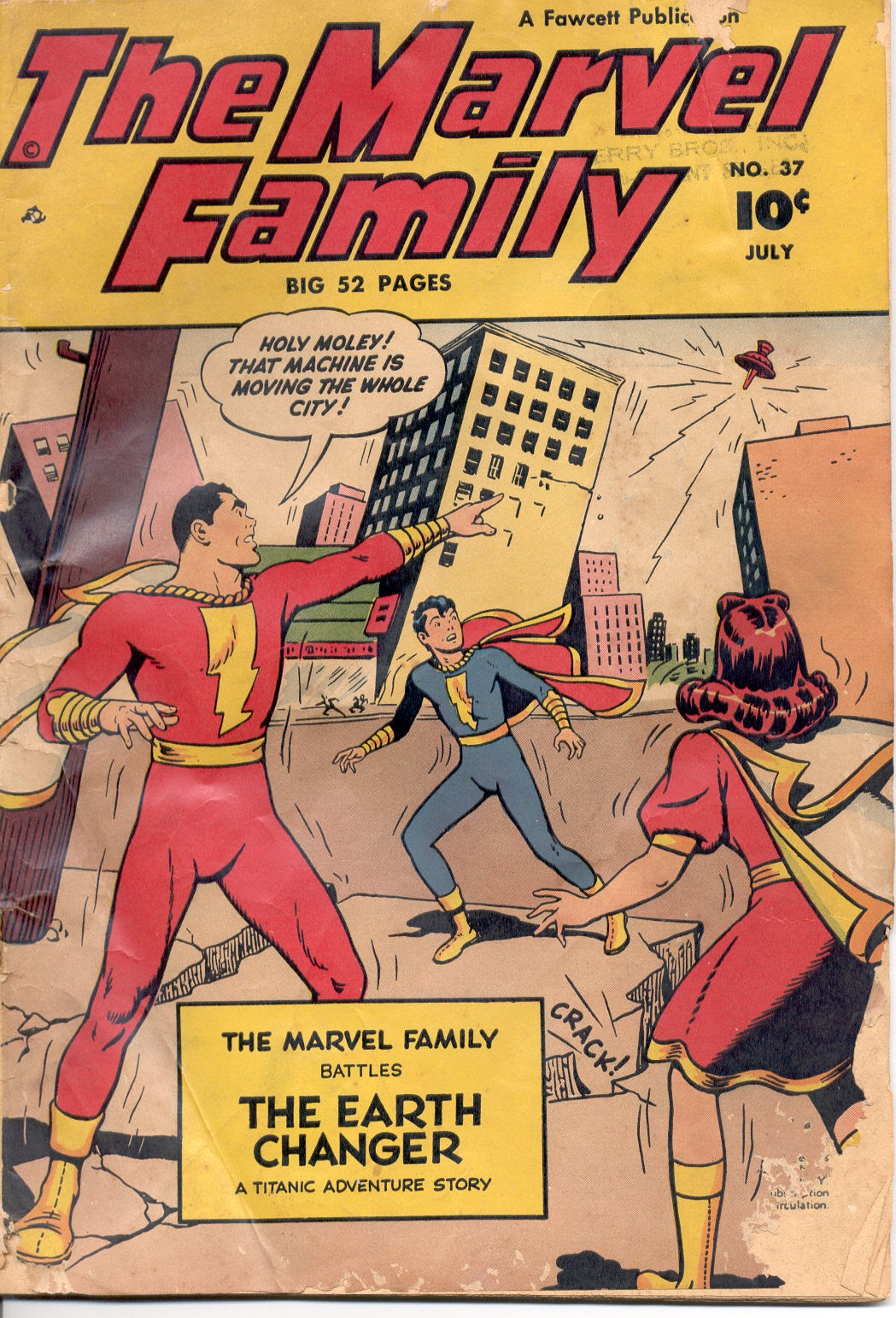The Marvel Family 37 Page 1