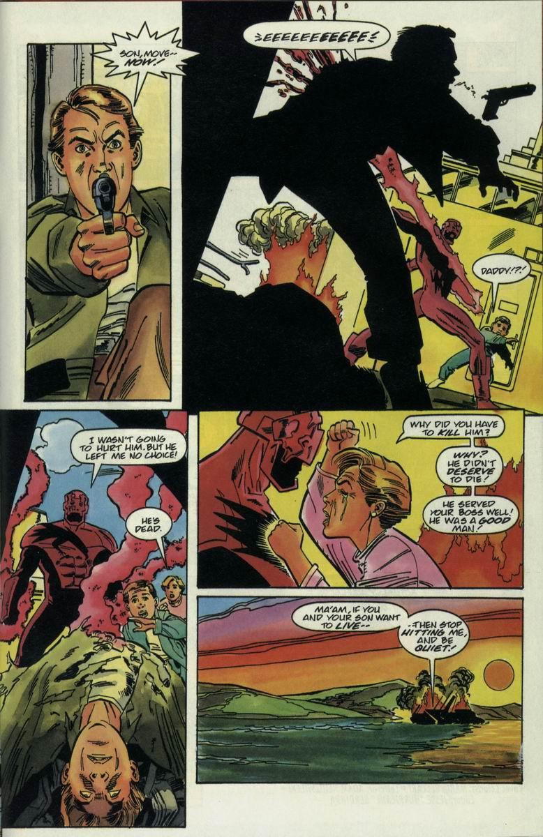 Read online Harbinger Files comic -  Issue #2 - 21