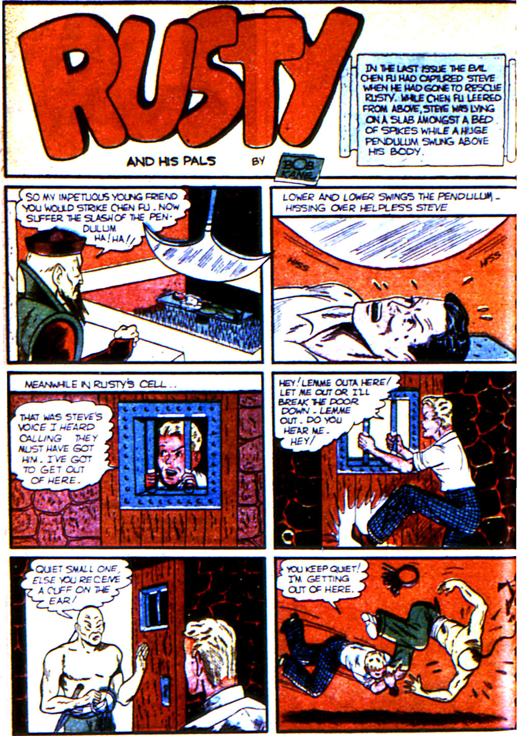 Read online Adventure Comics (1938) comic -  Issue #43 - 56