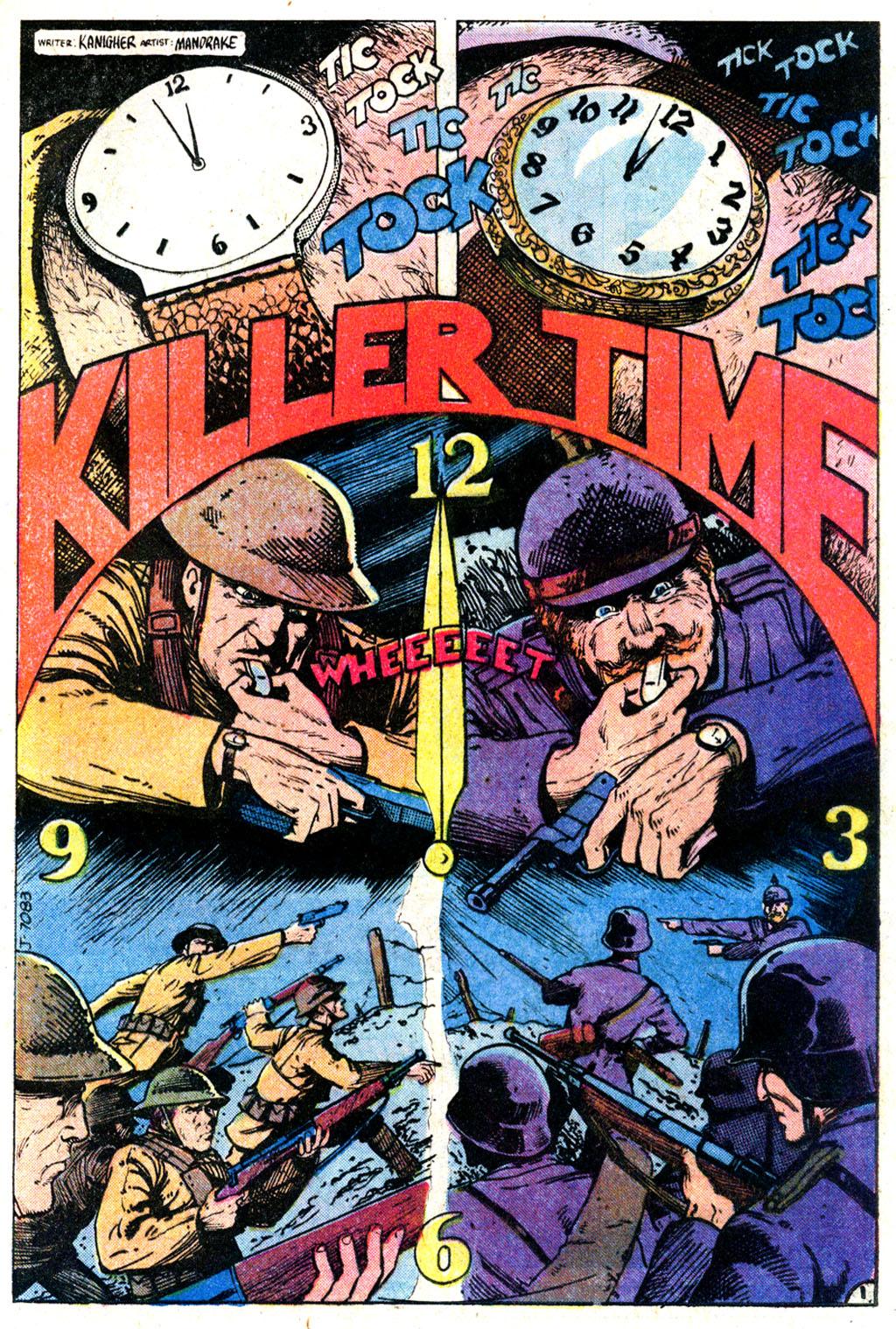 Read online Sgt. Rock comic -  Issue #354 - 20