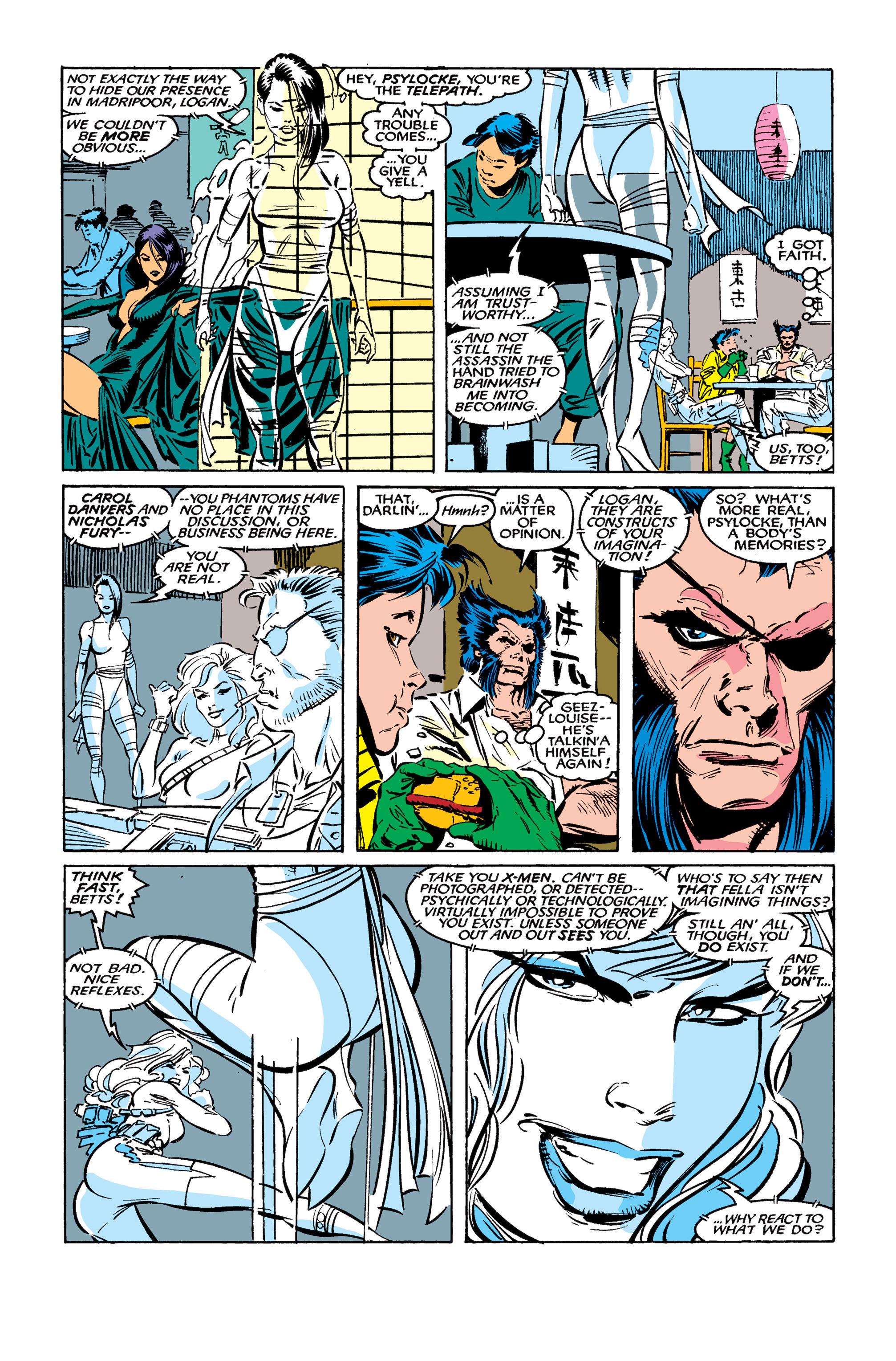 Read online Uncanny X-Men (1963) comic -  Issue #261 - 7