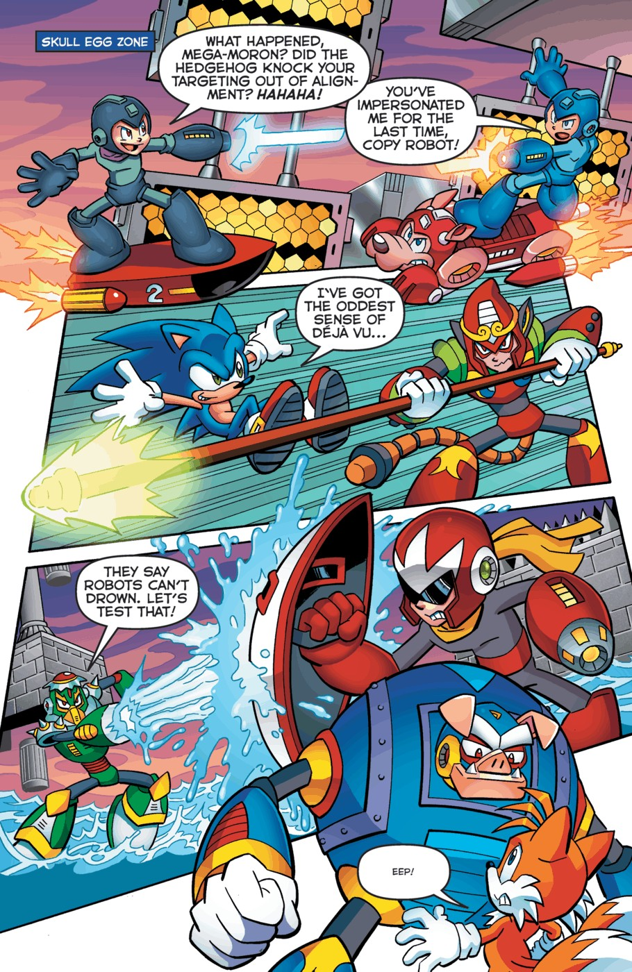 Read online Sonic Universe comic -  Issue #52 - 8