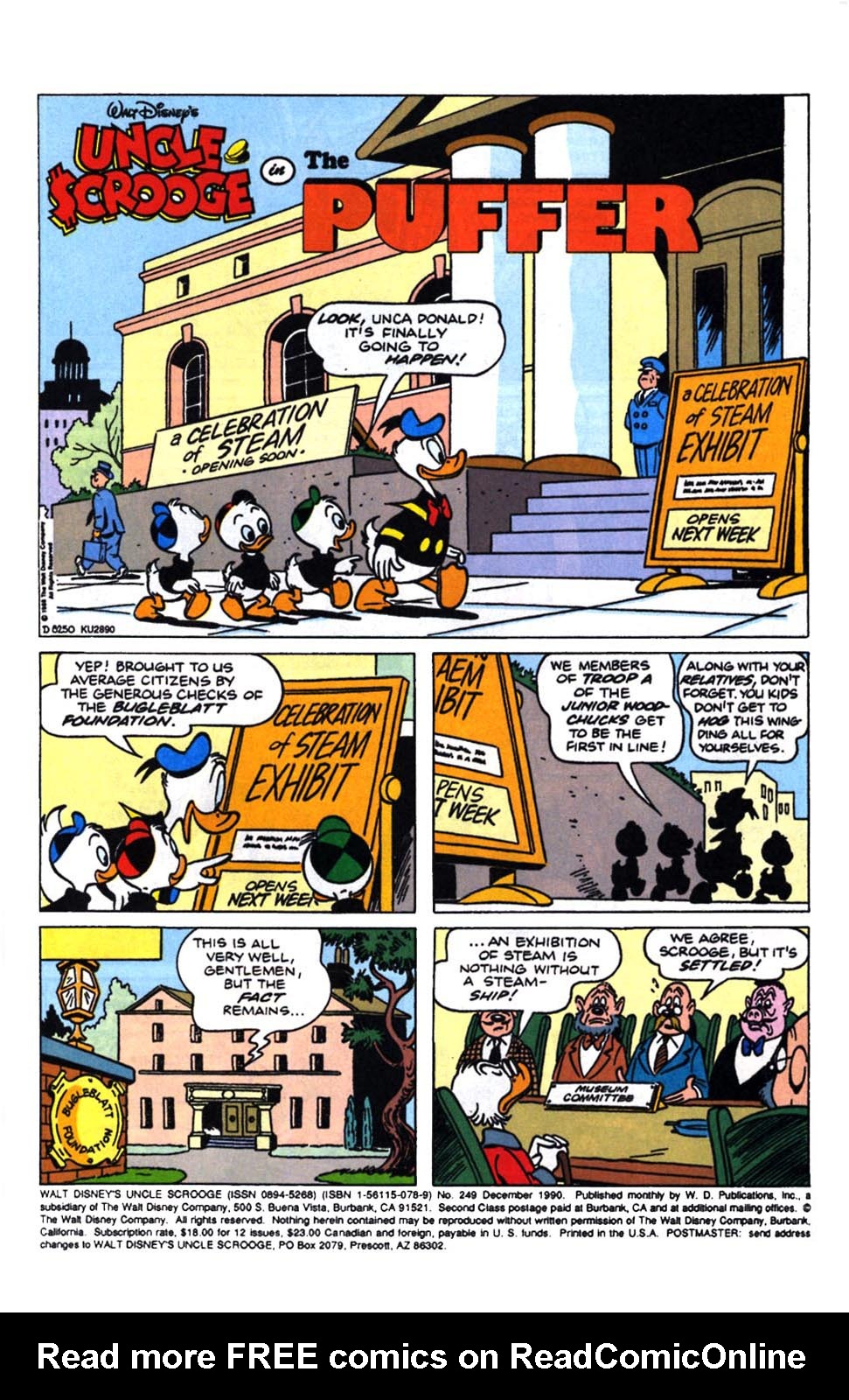 Read online Uncle Scrooge (1953) comic -  Issue #249 - 3
