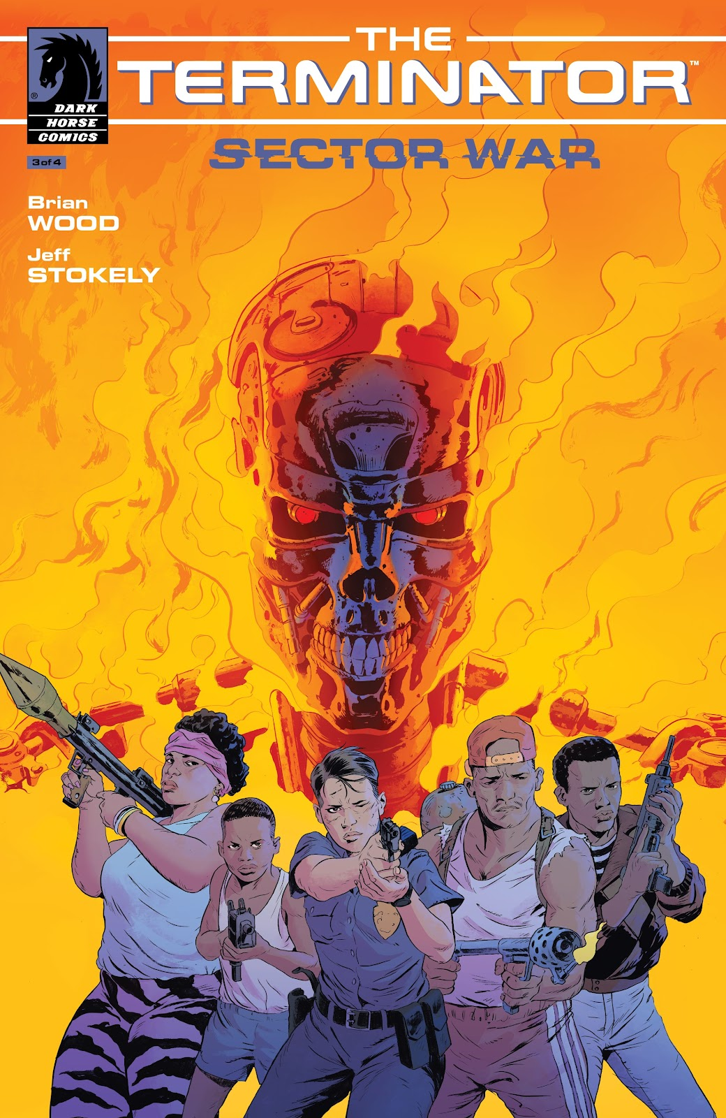 Read online The Terminator: Sector War comic -  Issue #3 - 1