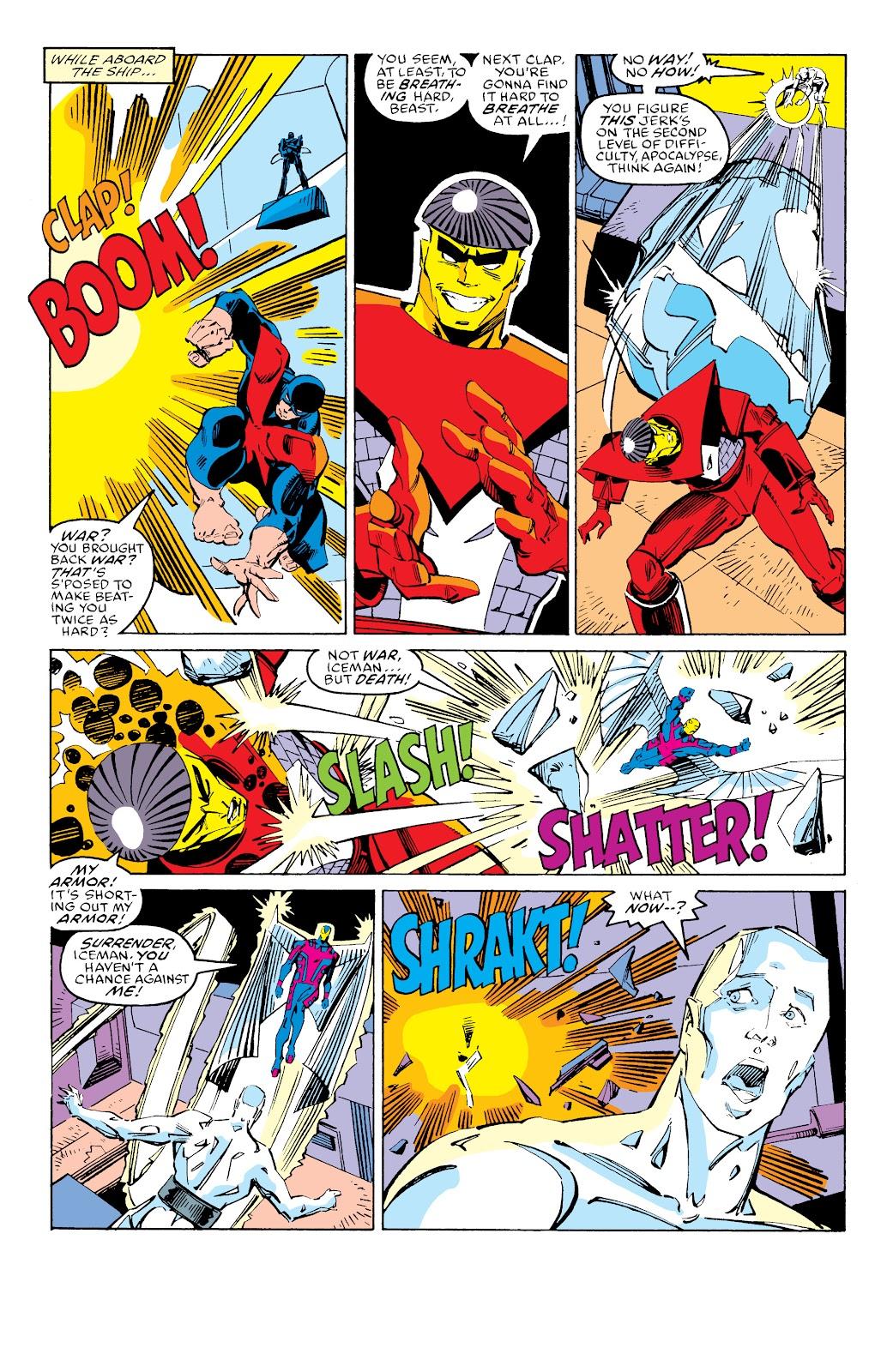 Read online X-Men Milestones: Fall of the Mutants comic -  Issue # TPB (Part 3) - 31