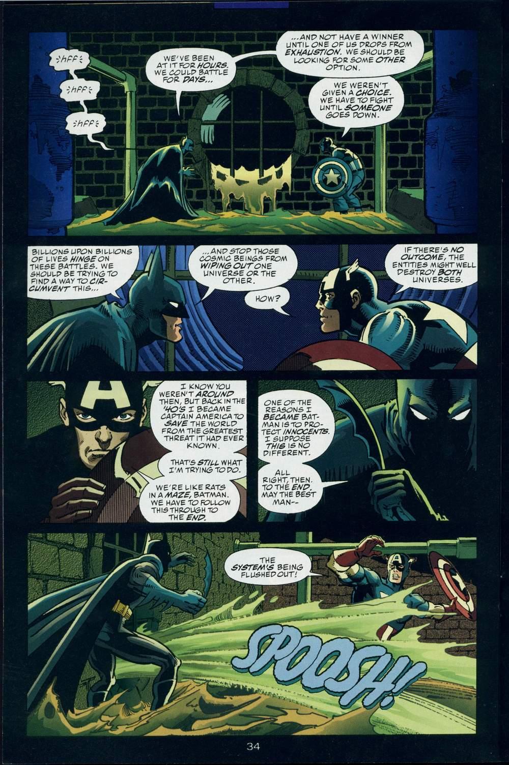 Read online DC Versus Marvel Comics comic -  Issue #3 - 35