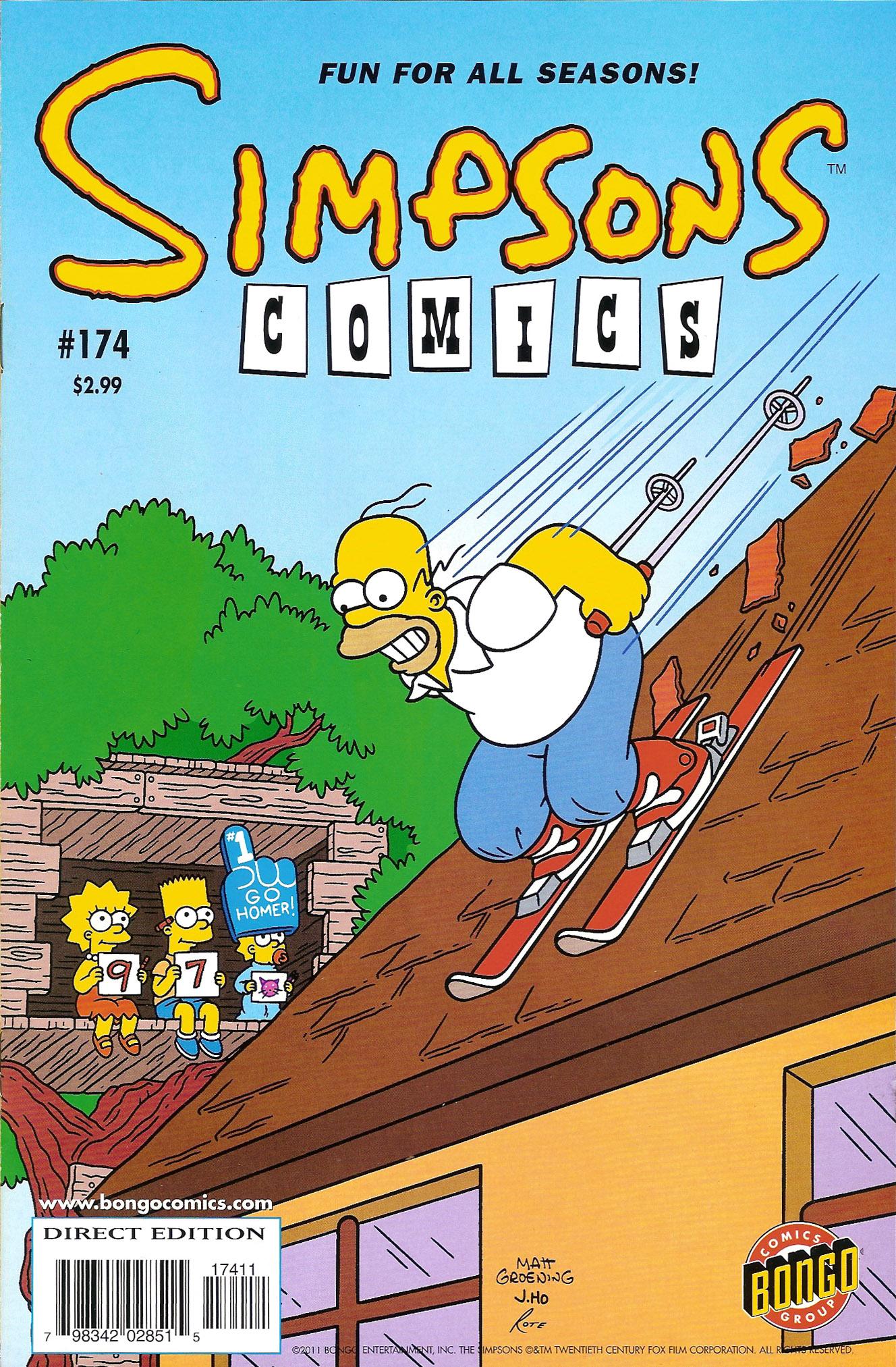 Read online Simpsons Comics comic -  Issue #174 - 1