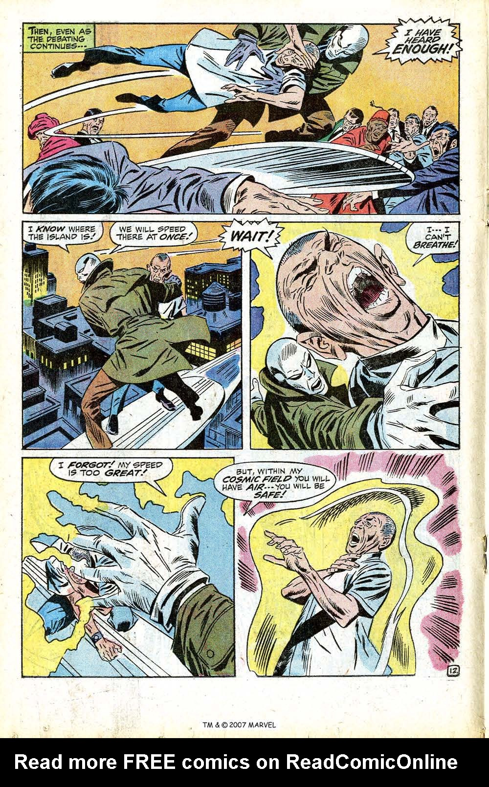 Read online Silver Surfer (1968) comic -  Issue #13 - 18