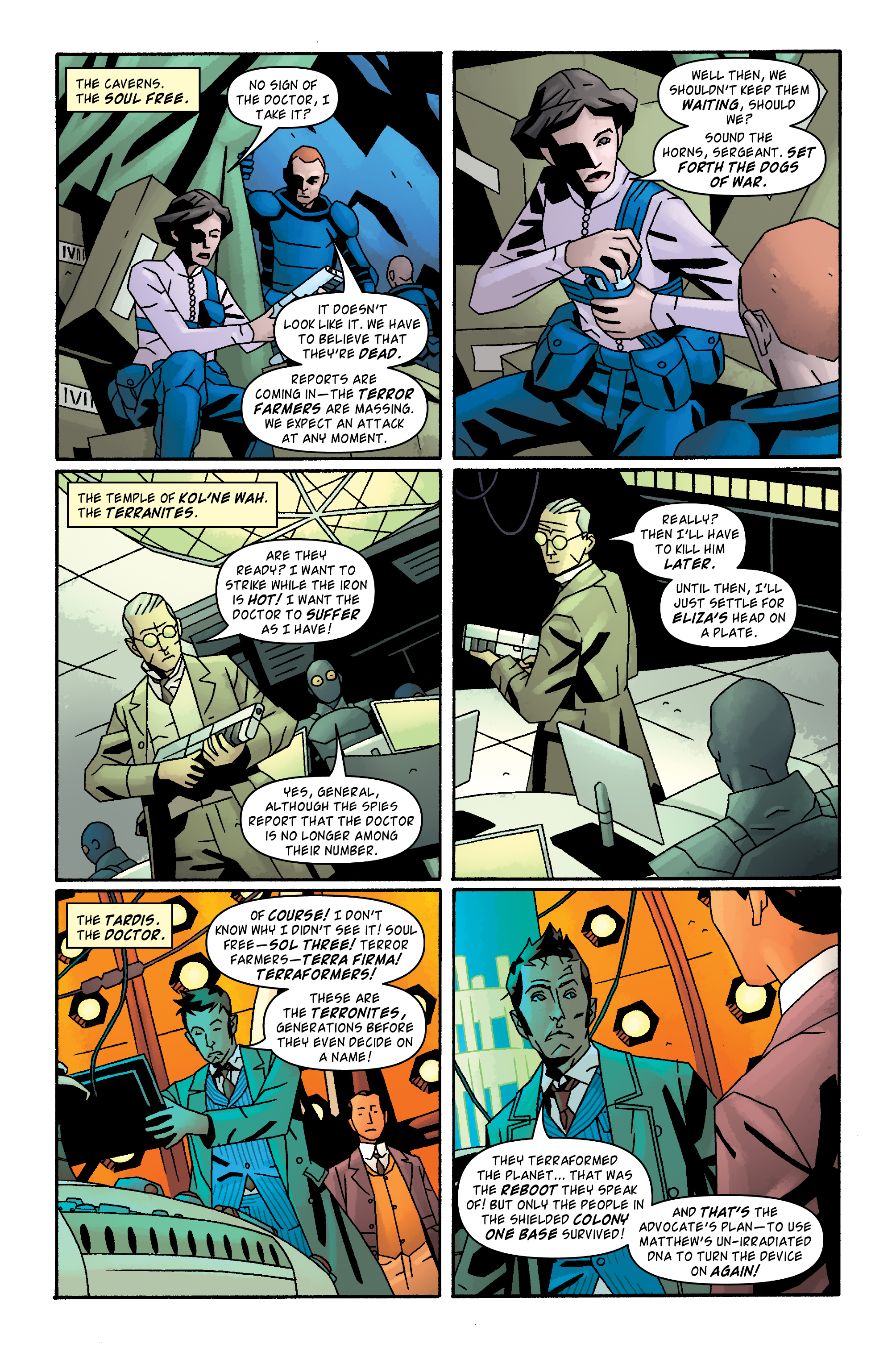 Read online Doctor Who: The Tenth Doctor Archives comic -  Issue #33 - 3