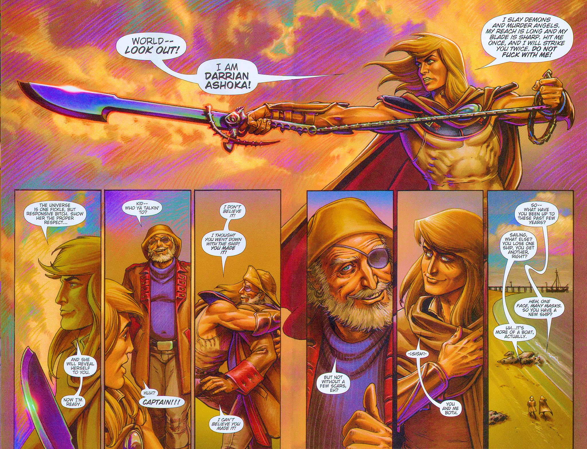 Read online Dawn: Three Tiers comic -  Issue #6 - 22