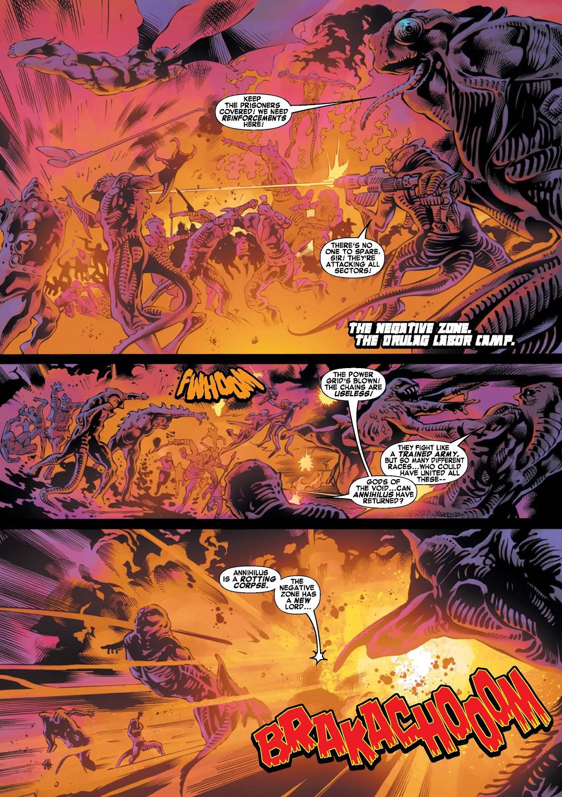 War of Kings: Warriors - Blastaar Issue #1 #1 - English 2