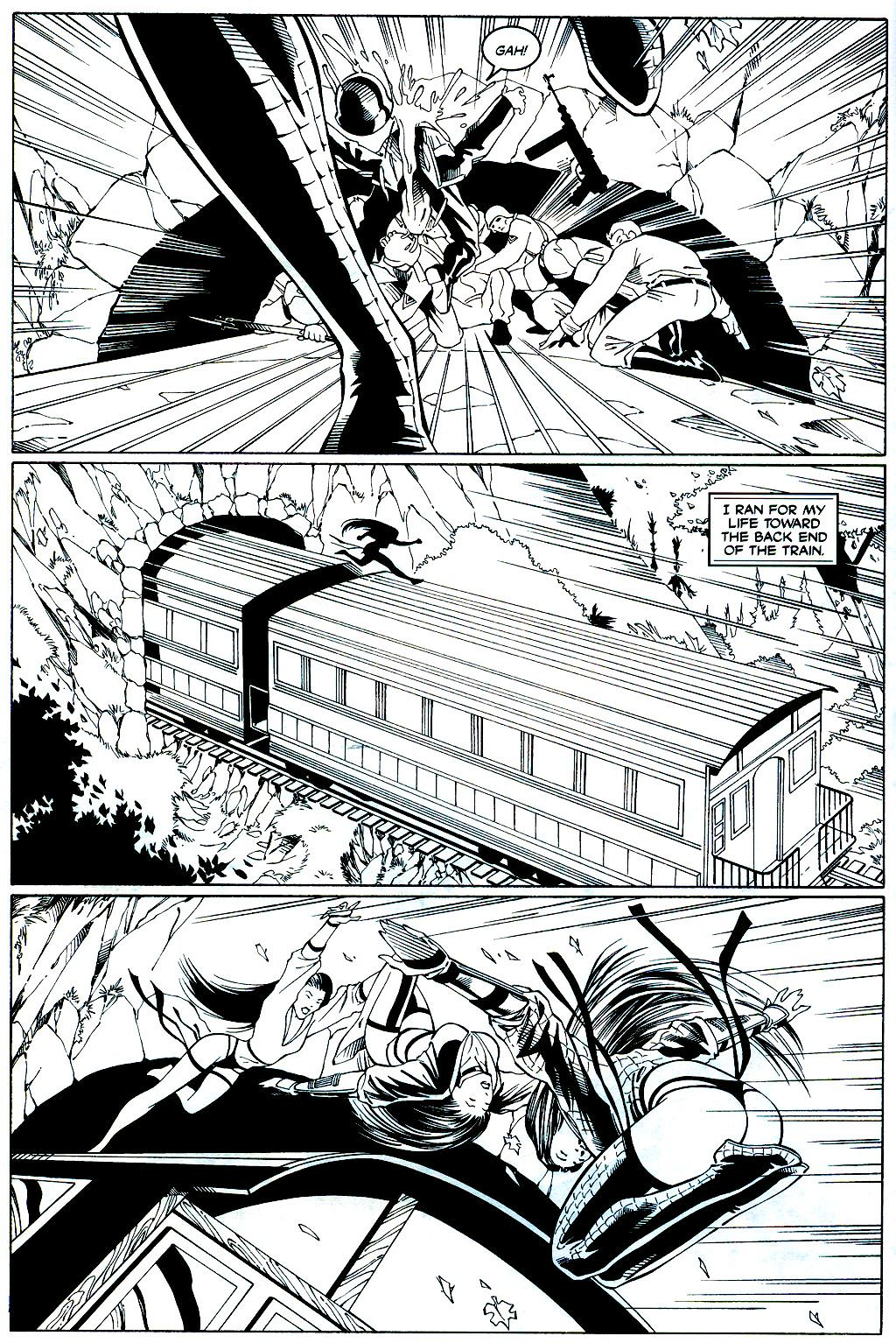 Read online Shi: Sempo comic -  Issue #2 - 9