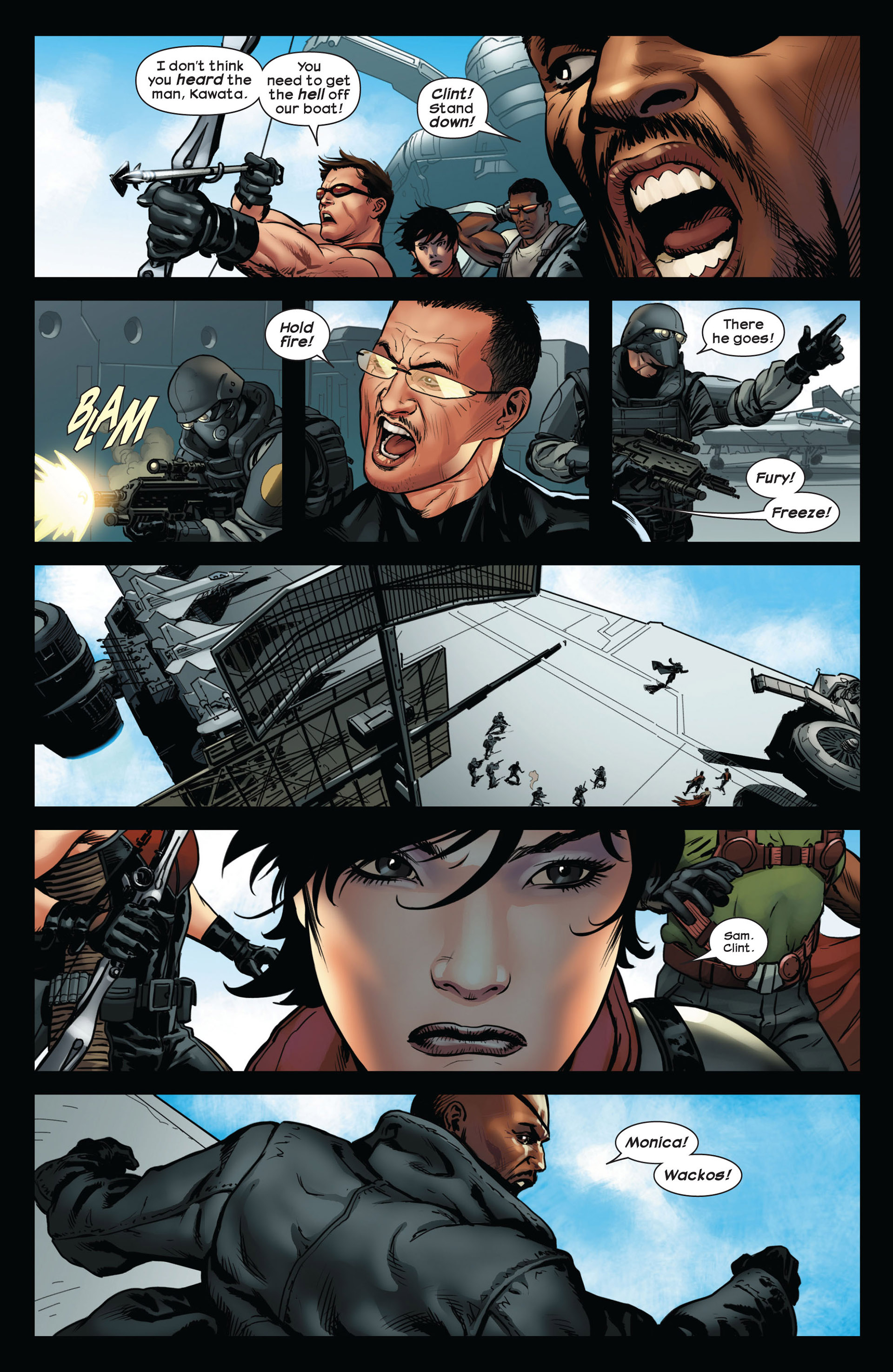 Read online Ultimate Comics Ultimates comic -  Issue #10 - 11
