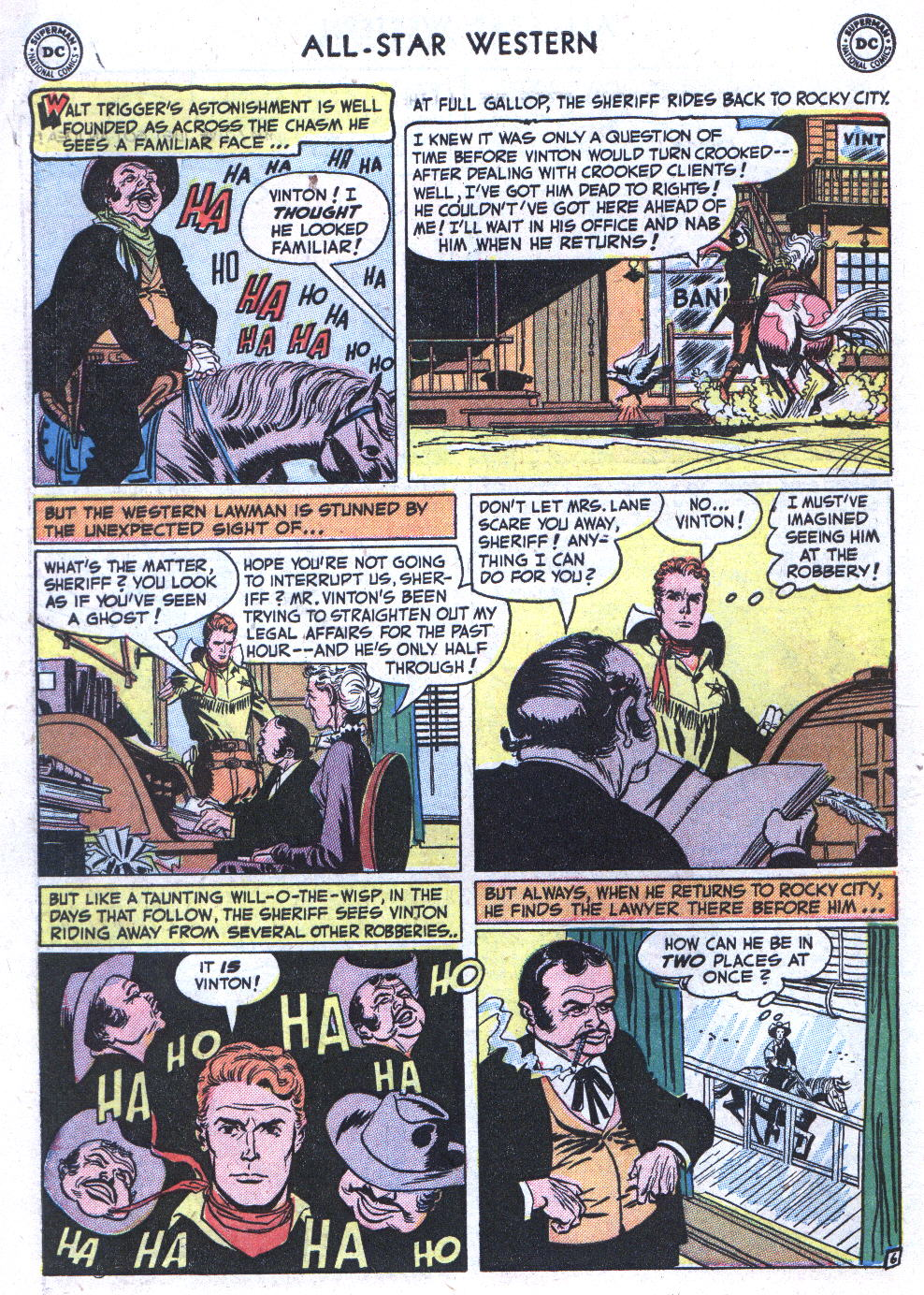Read online All-Star Western (1951) comic -  Issue #59 - 8