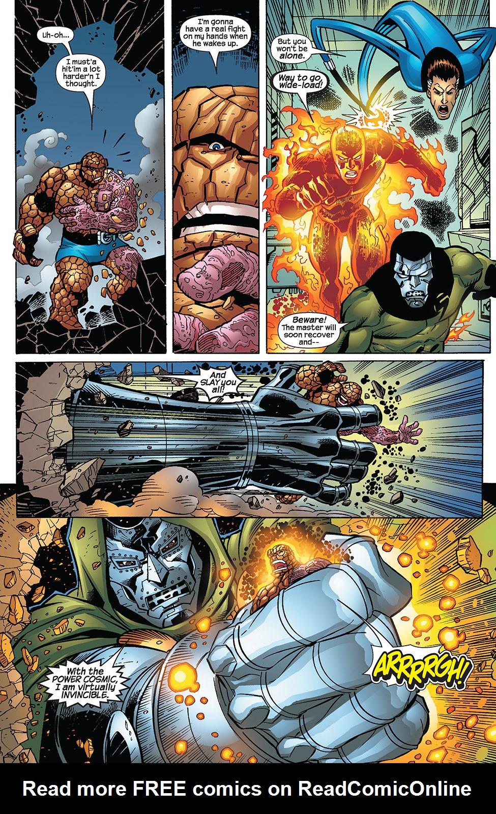 Read online Fantastic Five (2007) comic -  Issue #3 - 12
