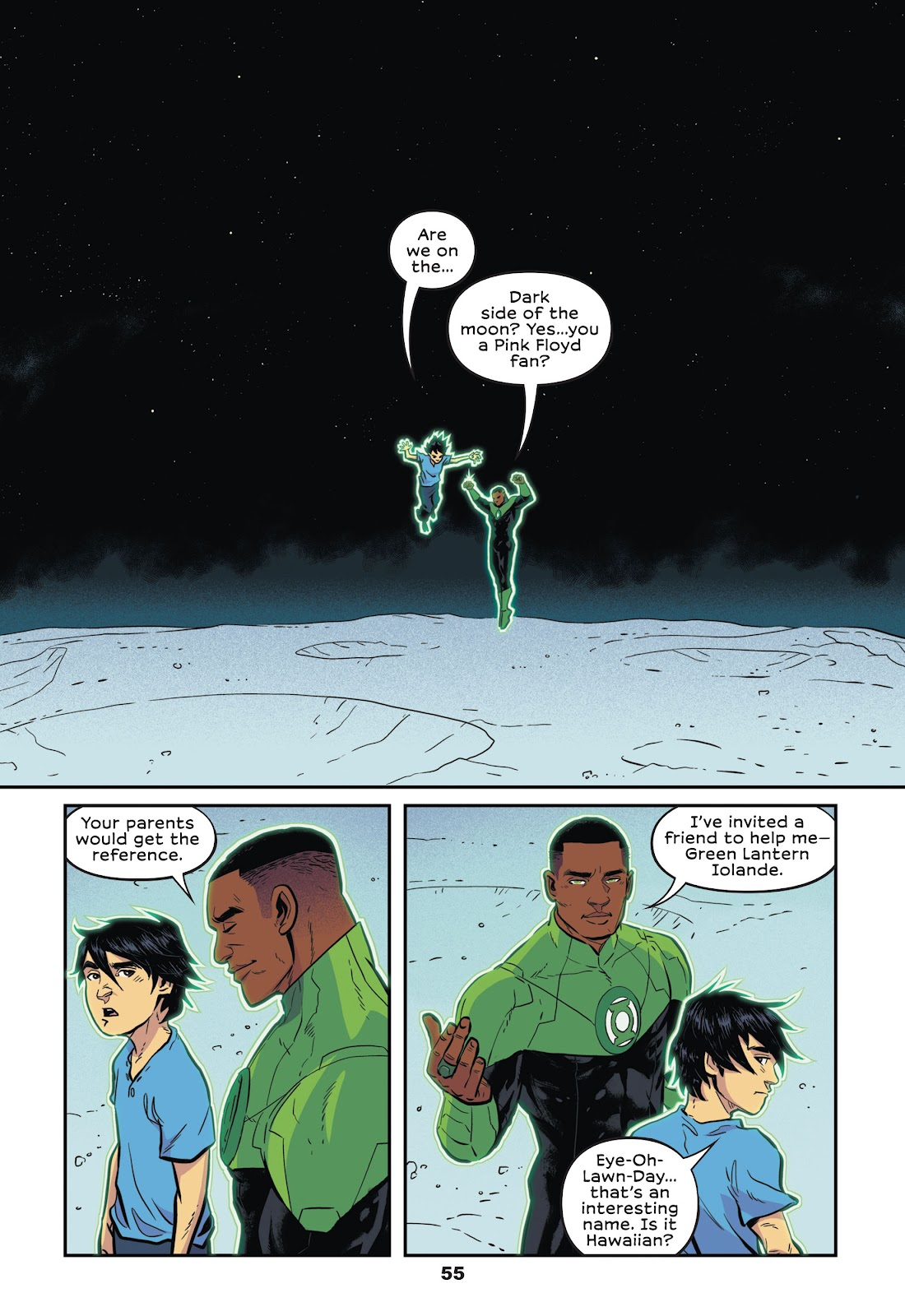 Read online Green Lantern: Legacy comic -  Issue # TPB - 53