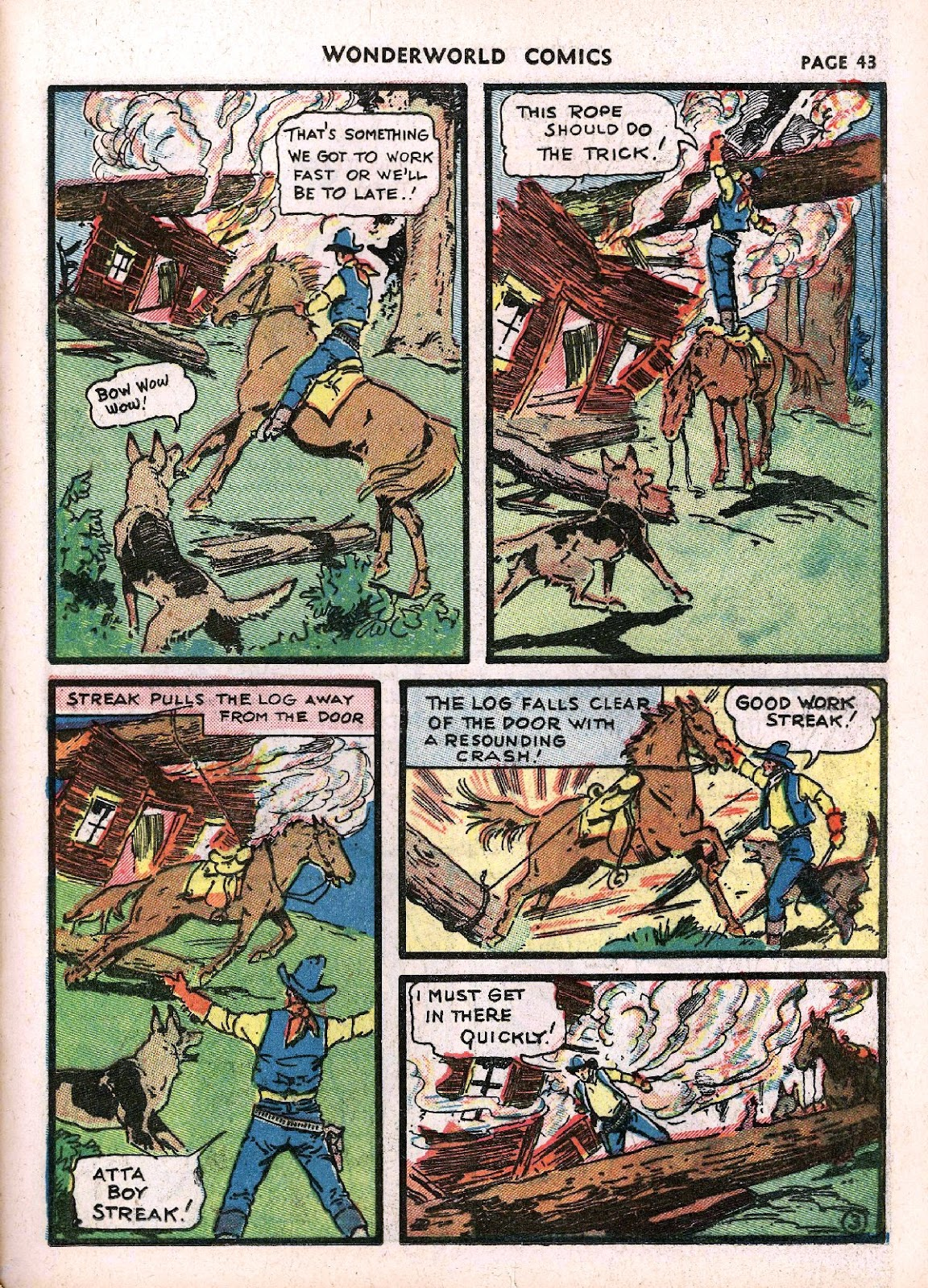 Wonderworld Comics issue 14 - Page 45