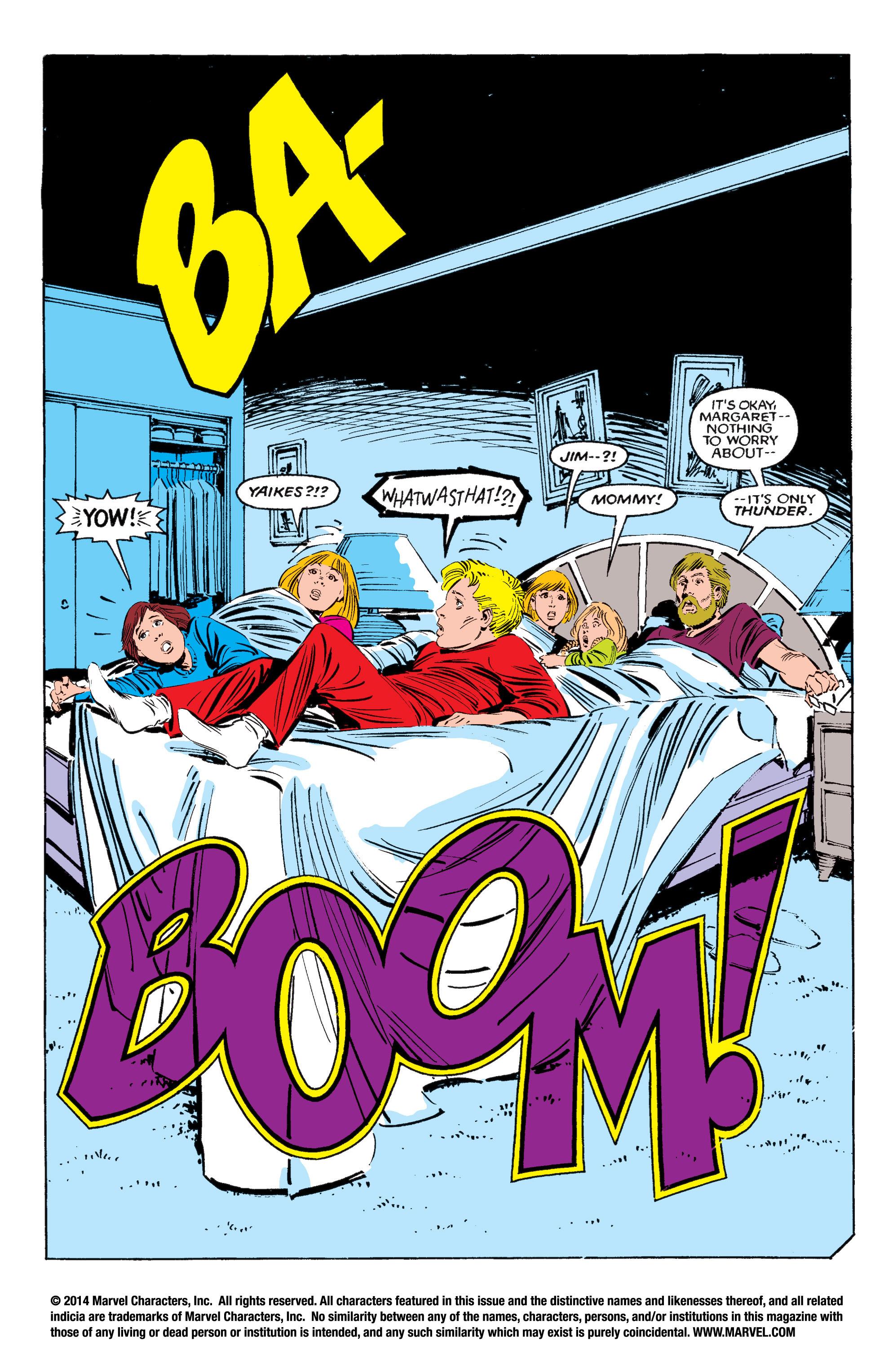 Read online Uncanny X-Men (1963) comic -  Issue #195 - 3
