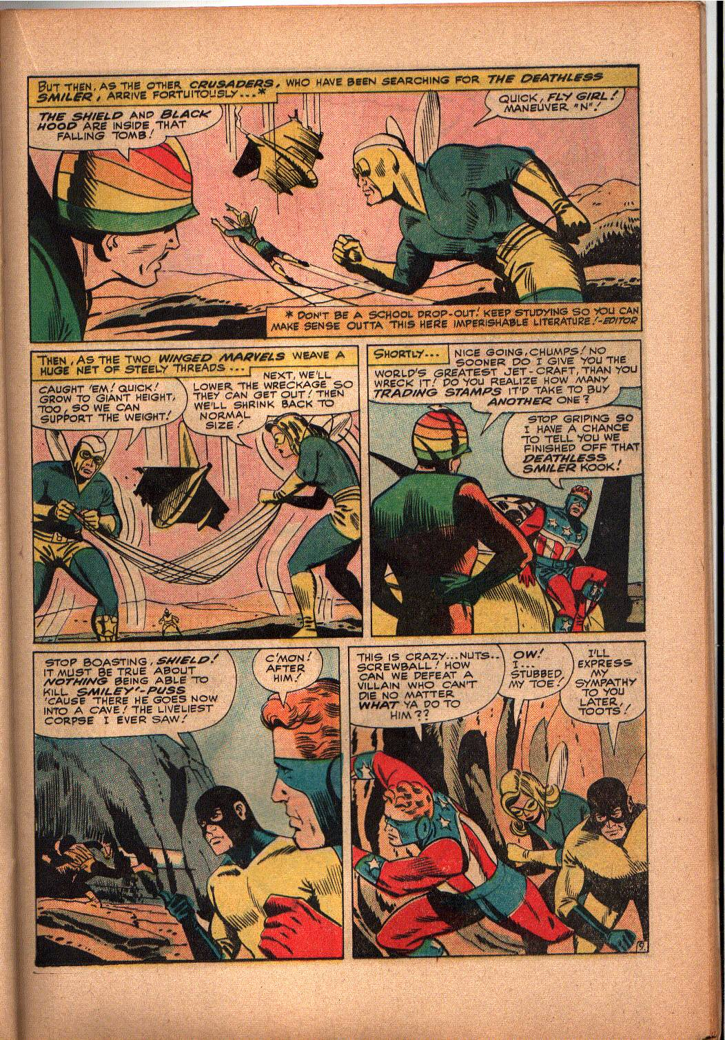 The Mighty Crusaders (1965) Issue #3 #3 - English 18
