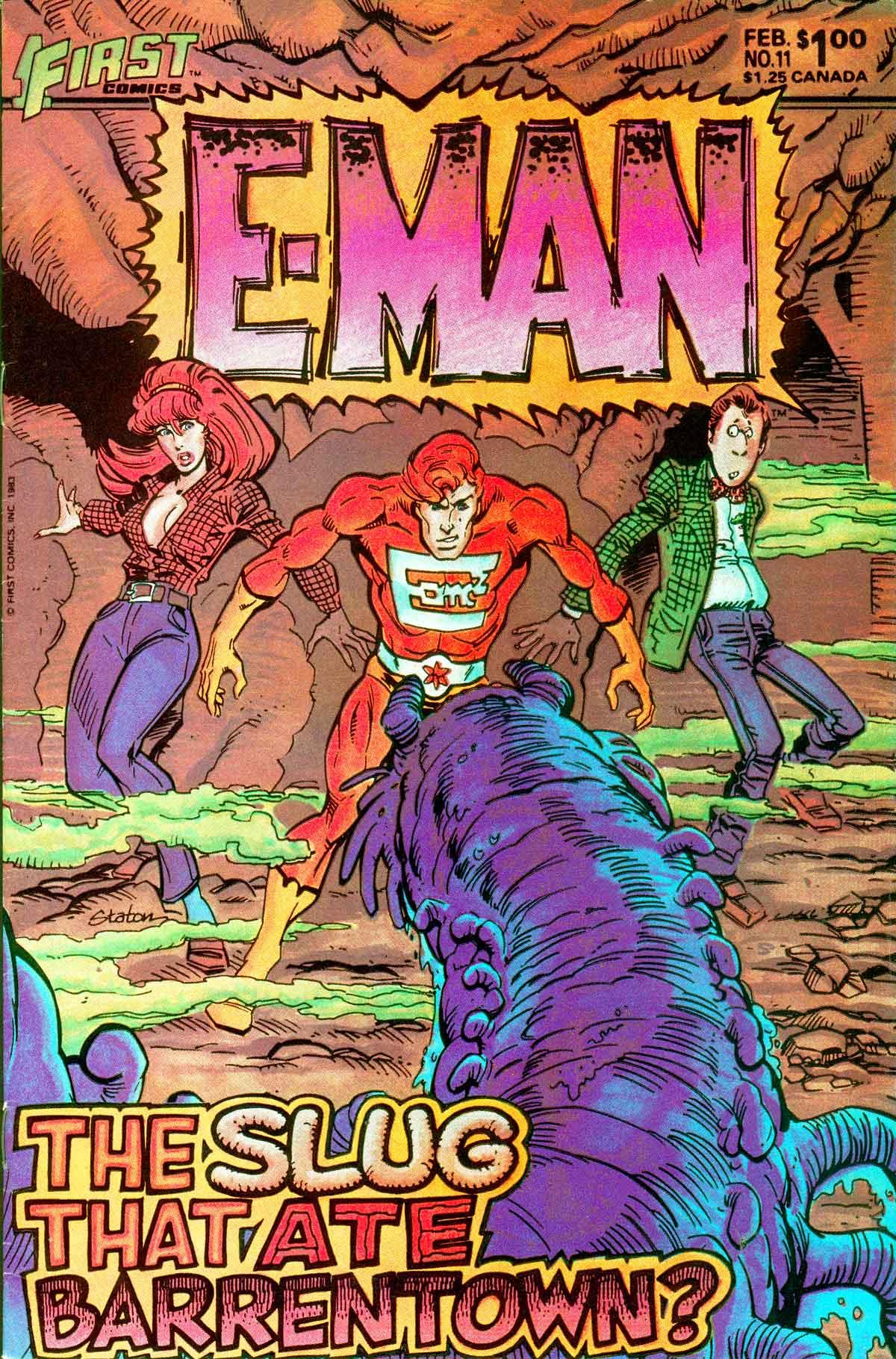 E-Man (1983) 11 Page 1