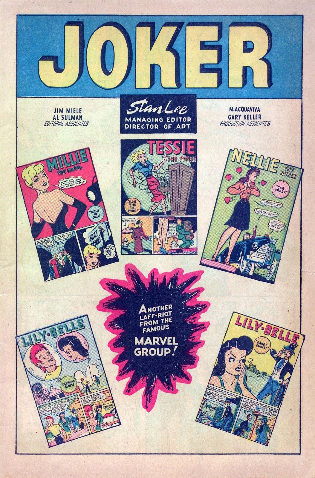 Read online Joker Comics comic -  Issue #28 - 3