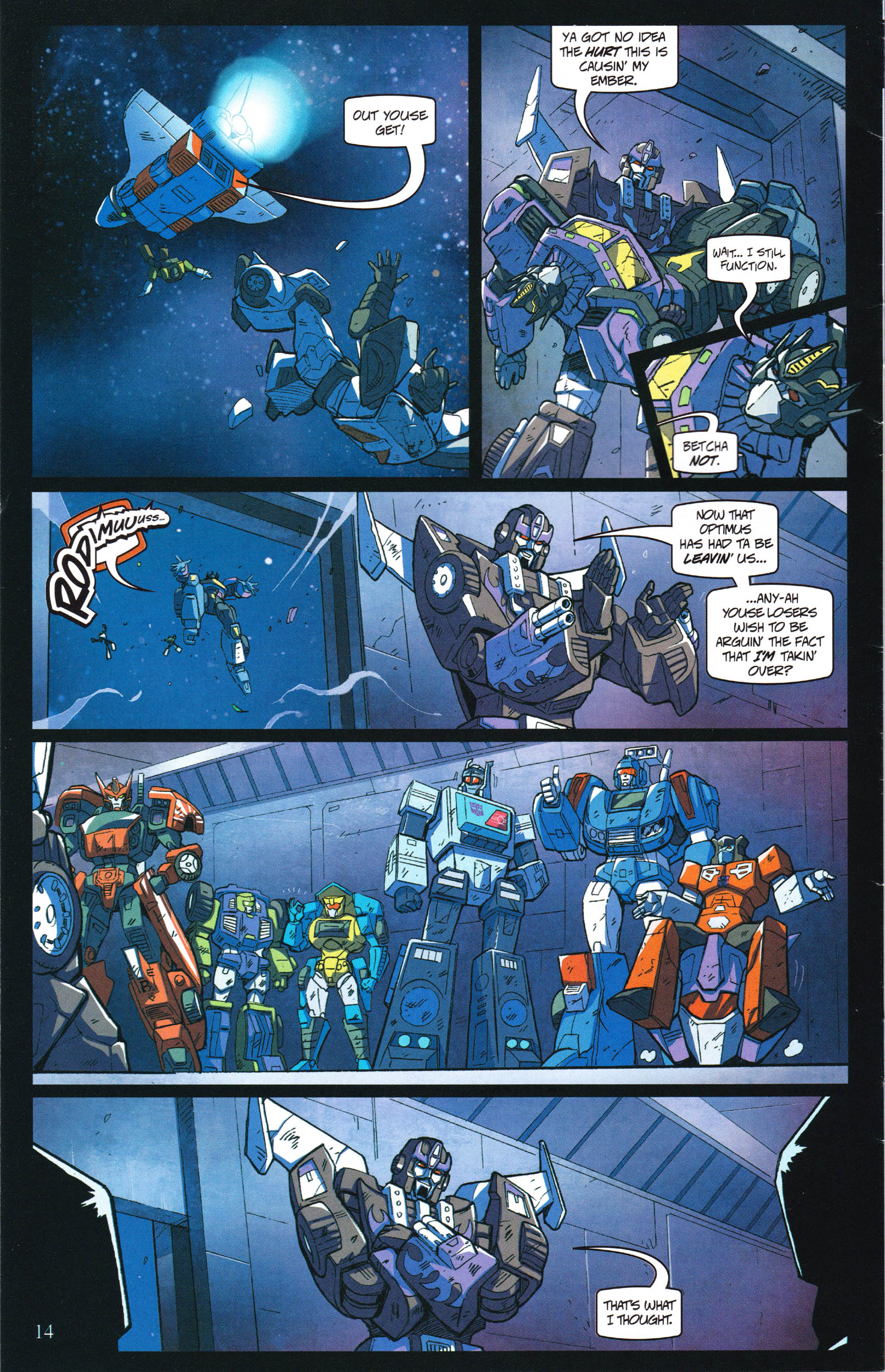 Read online Transformers: Collectors' Club comic -  Issue #60 - 14