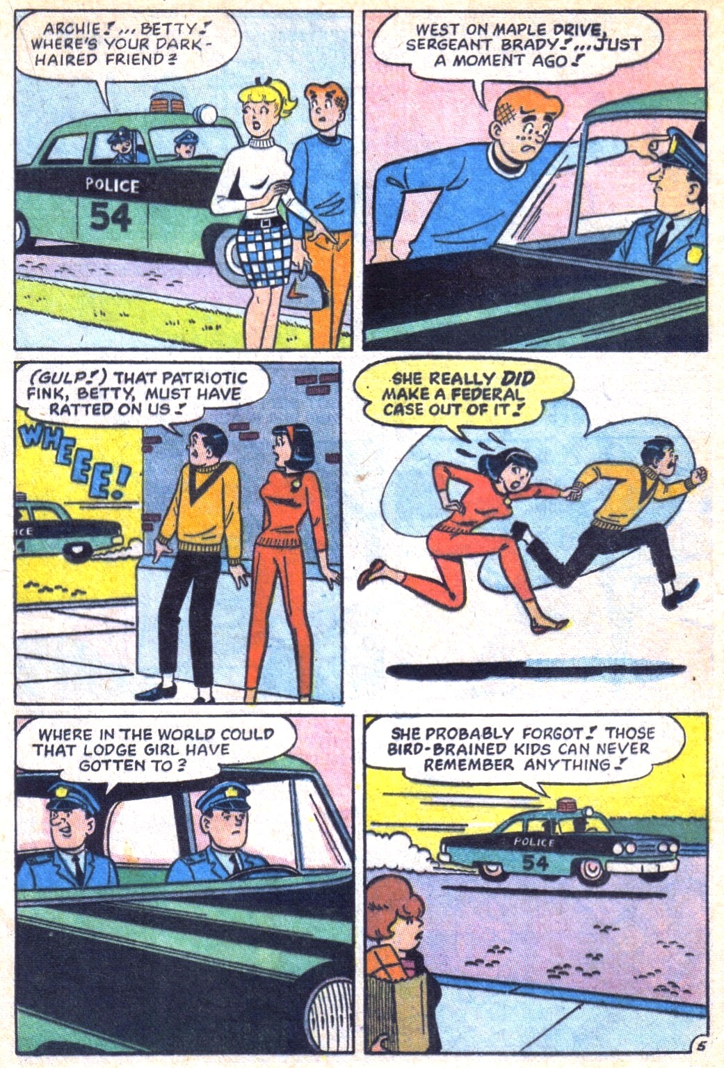 Read online Archie (1960) comic -  Issue #171 - 17