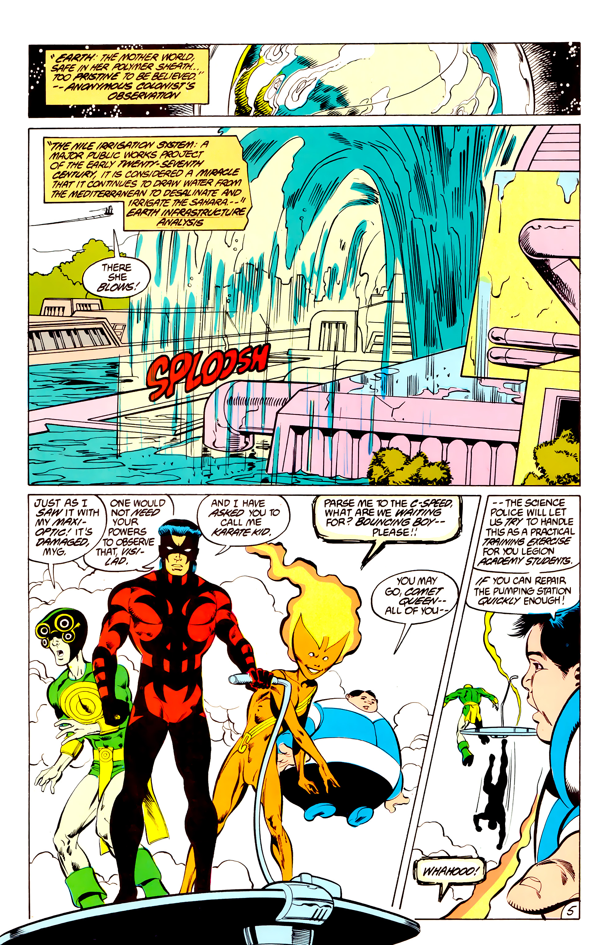 Legion of Super-Heroes (1984) _Annual_3 Page 5