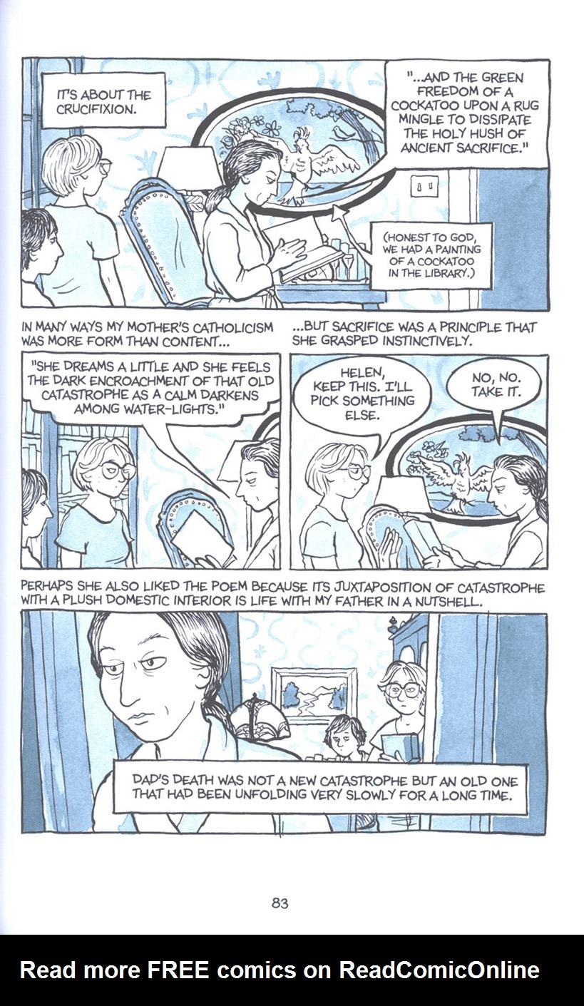 Read online Fun Home: A Family Tragicomic comic -  Issue # TPB - 90