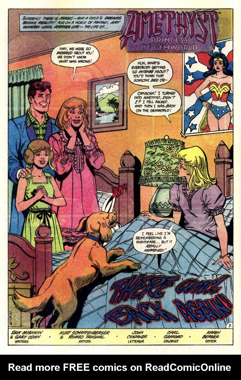 Read online Amethyst (1985) comic -  Issue #4 - 3