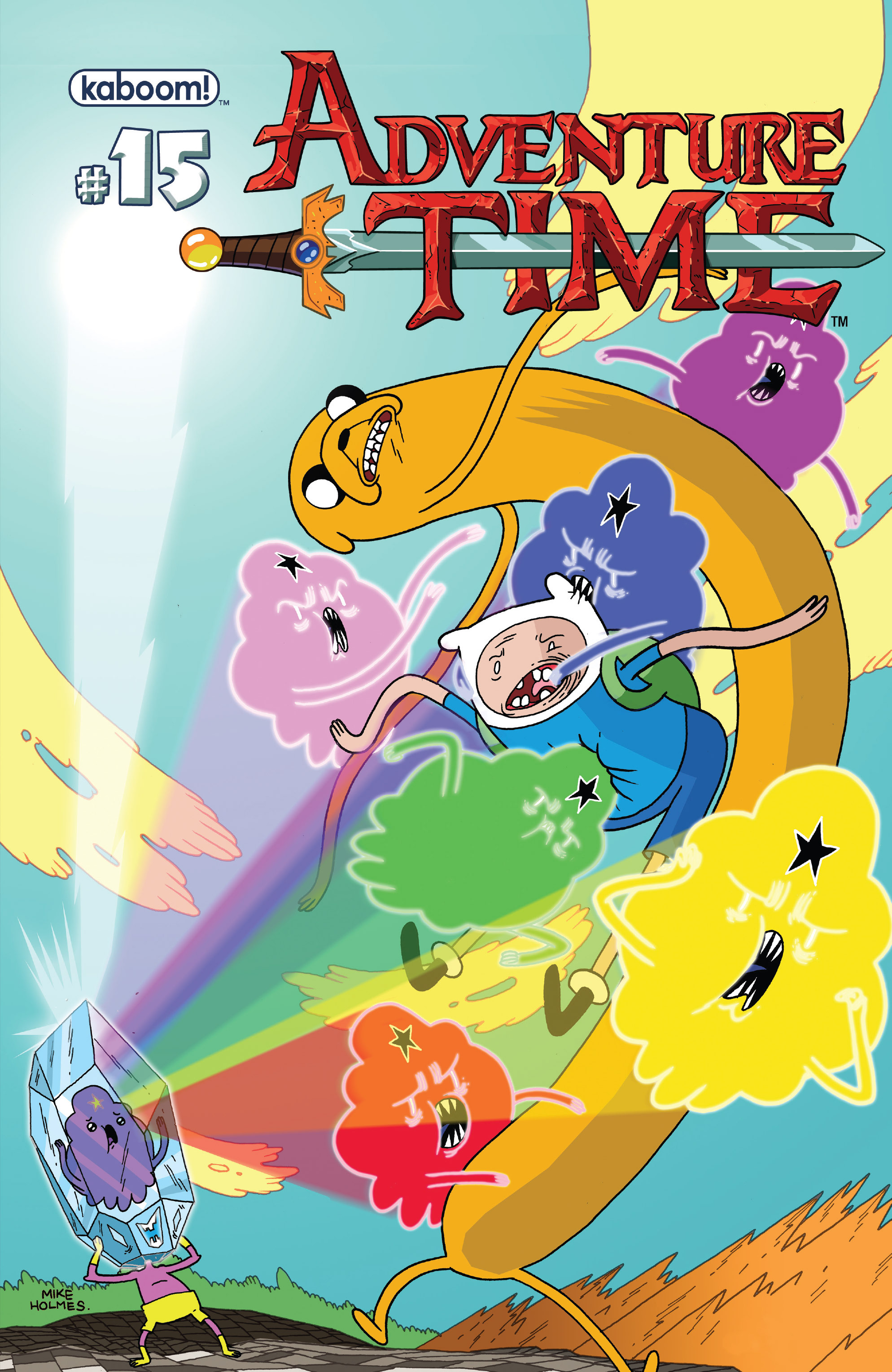 Read online Adventure Time comic -  Issue #15 - 1
