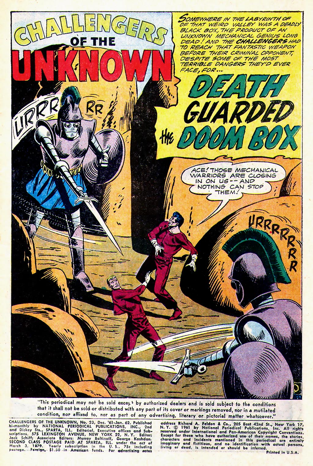 Challengers of the Unknown (1958) issue 23 - Page 3
