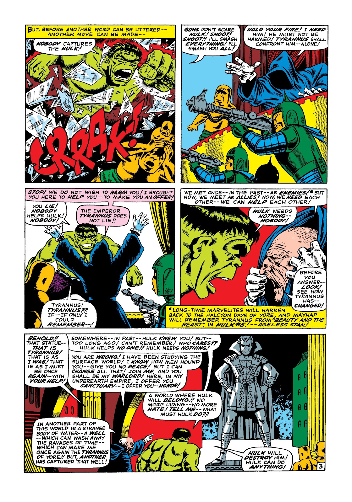 Read online Marvel Masterworks: The Incredible Hulk comic -  Issue # TPB 3 (Part 1) - 10