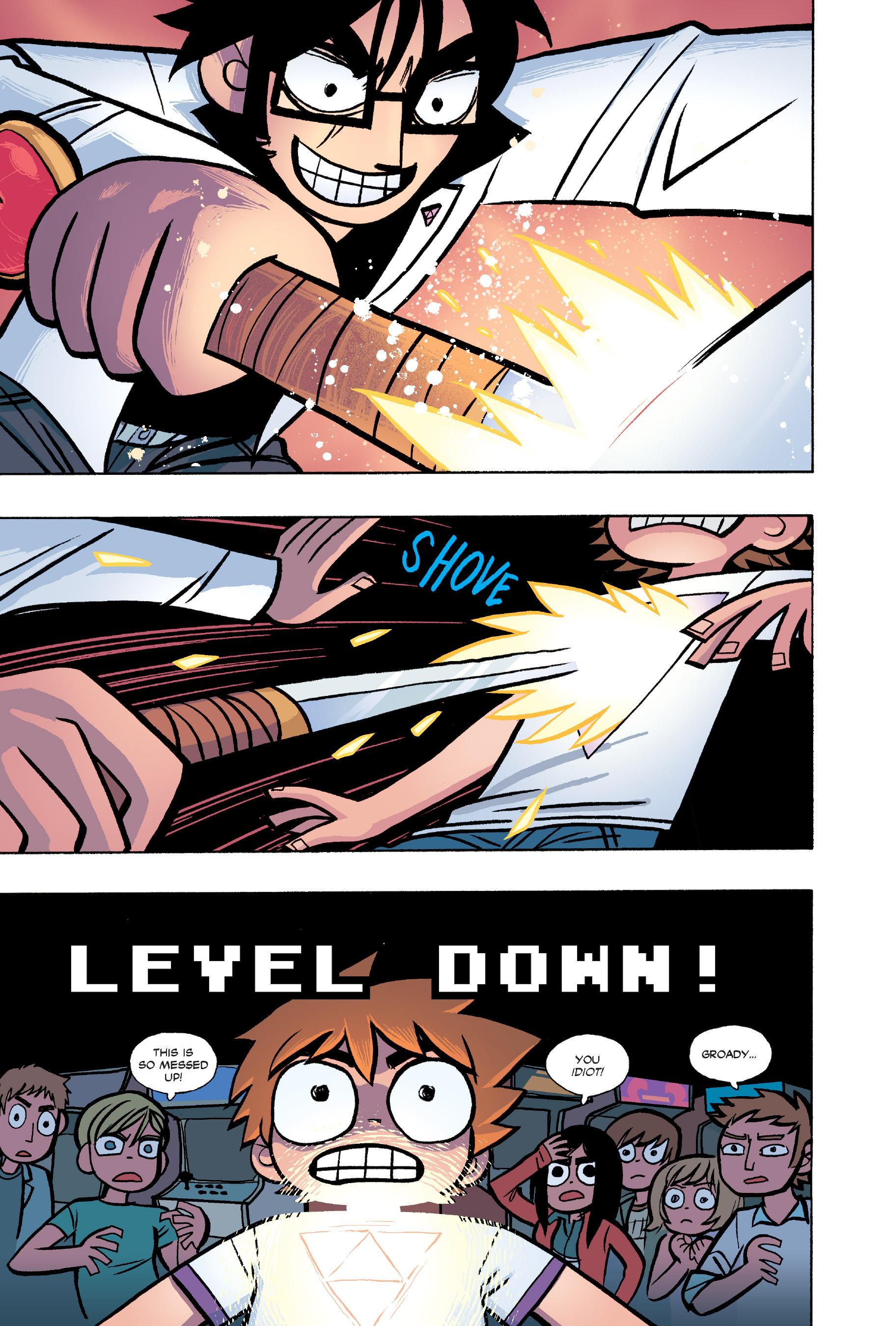 Read online Scott Pilgrim comic -  Issue #6 - 122