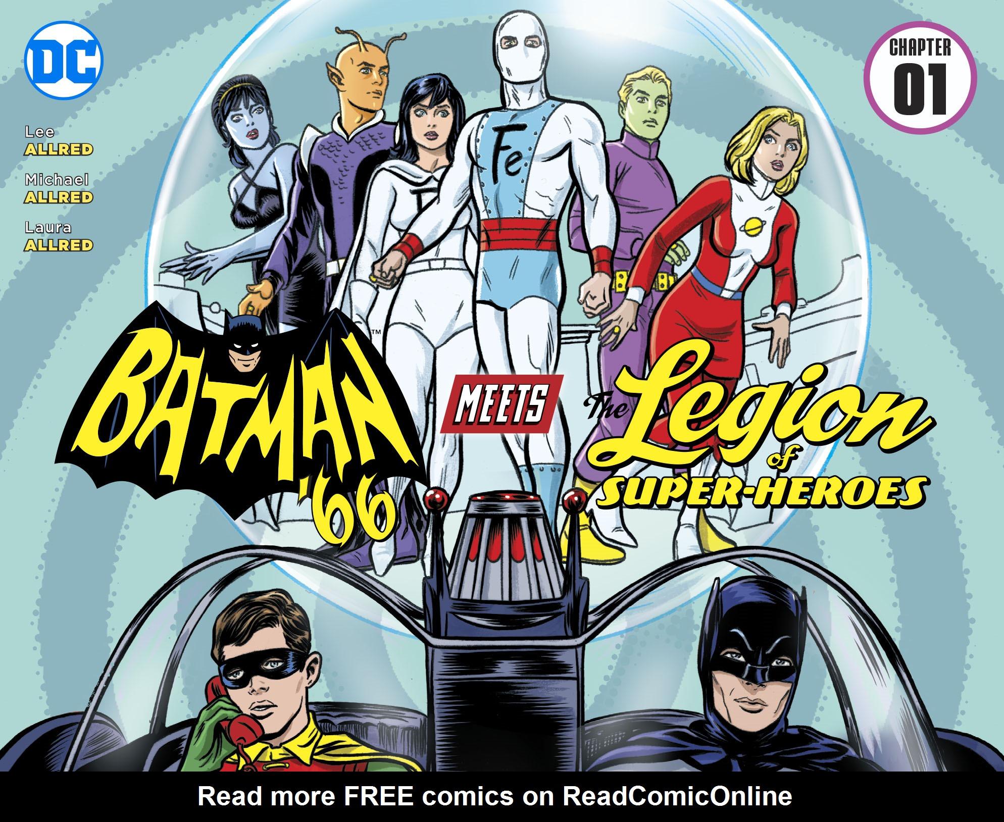 Read online Batman '66 Meets the Legion of Super-Heroes comic -  Issue #1 - 1