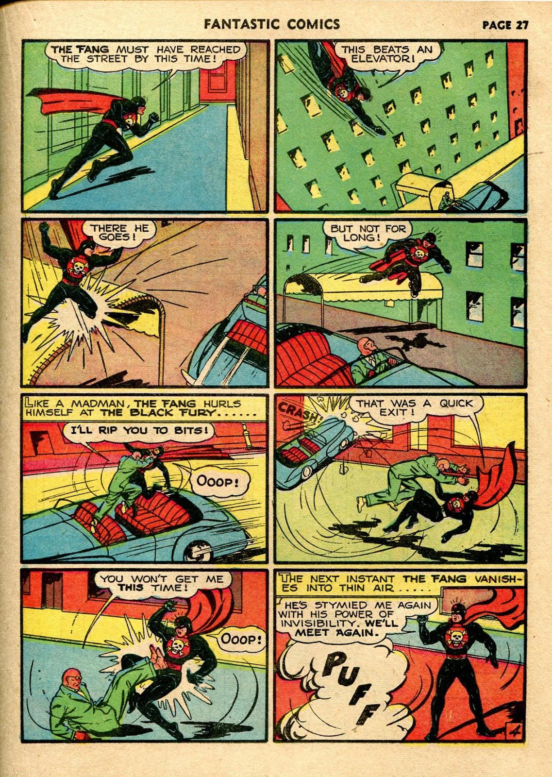 Read online Fantastic Comics comic -  Issue #21 - 29
