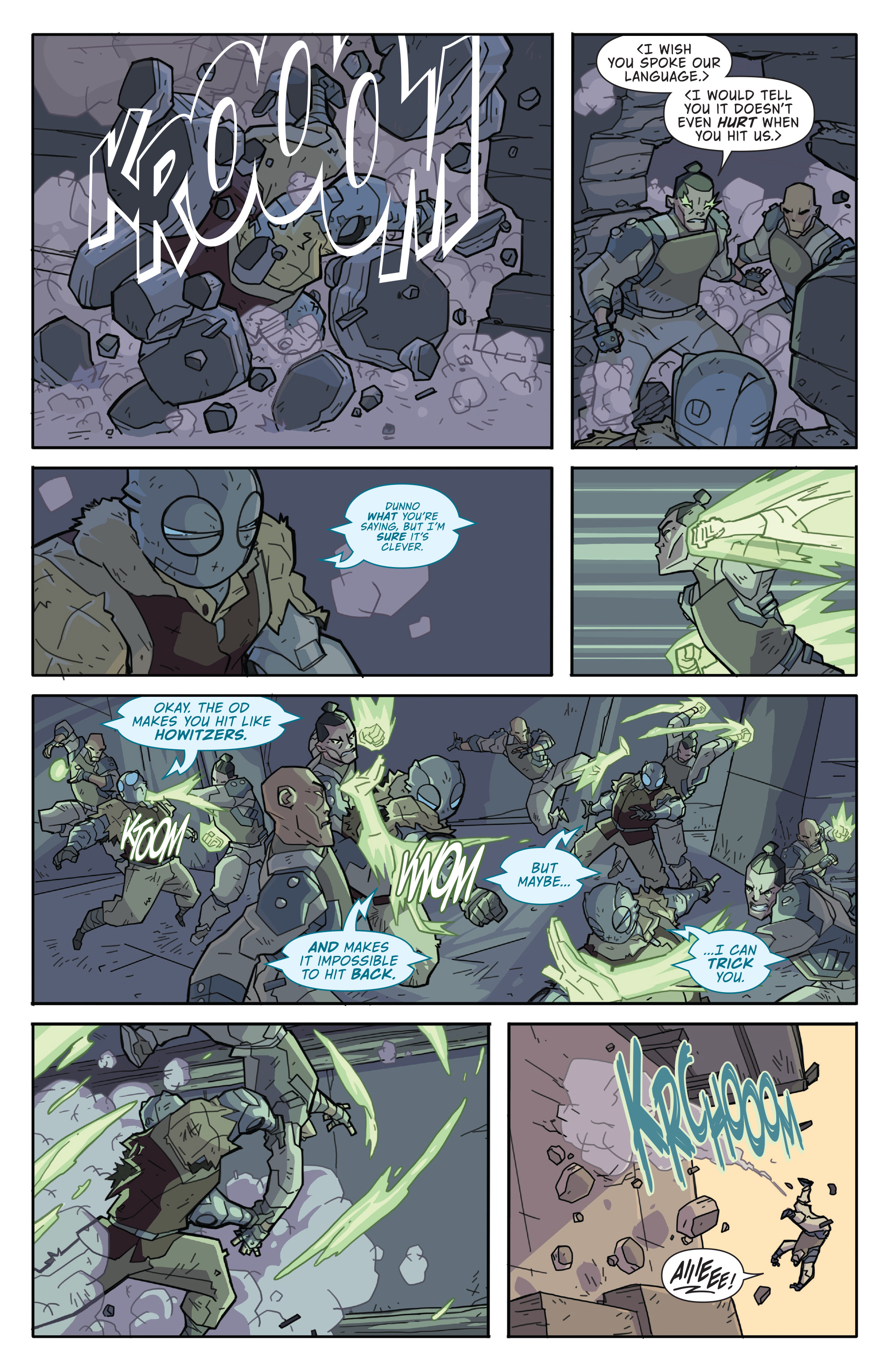 Read online Atomic Robo and the Temple of Od comic -  Issue #2 - 18
