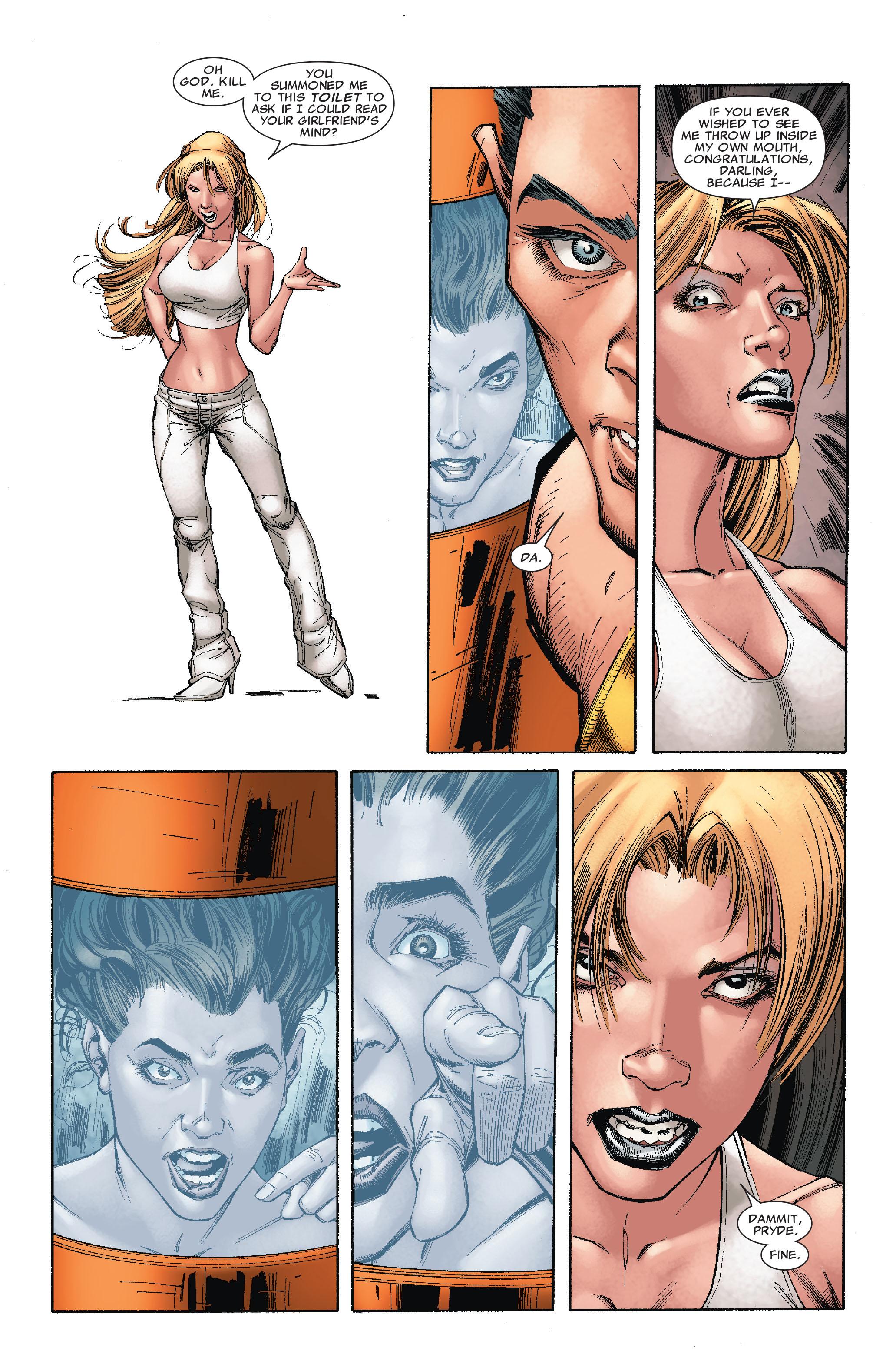 Read online Uncanny X-Men (1963) comic -  Issue #527 - 15