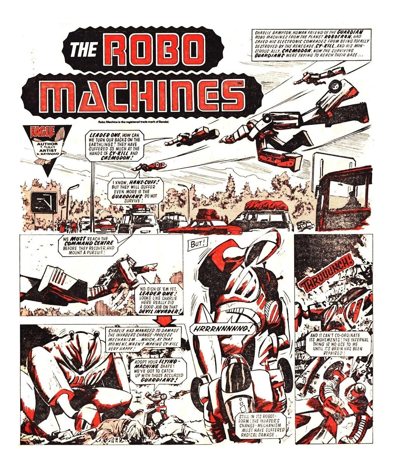 Read online Robo Machines comic -  Issue # TPB - 115