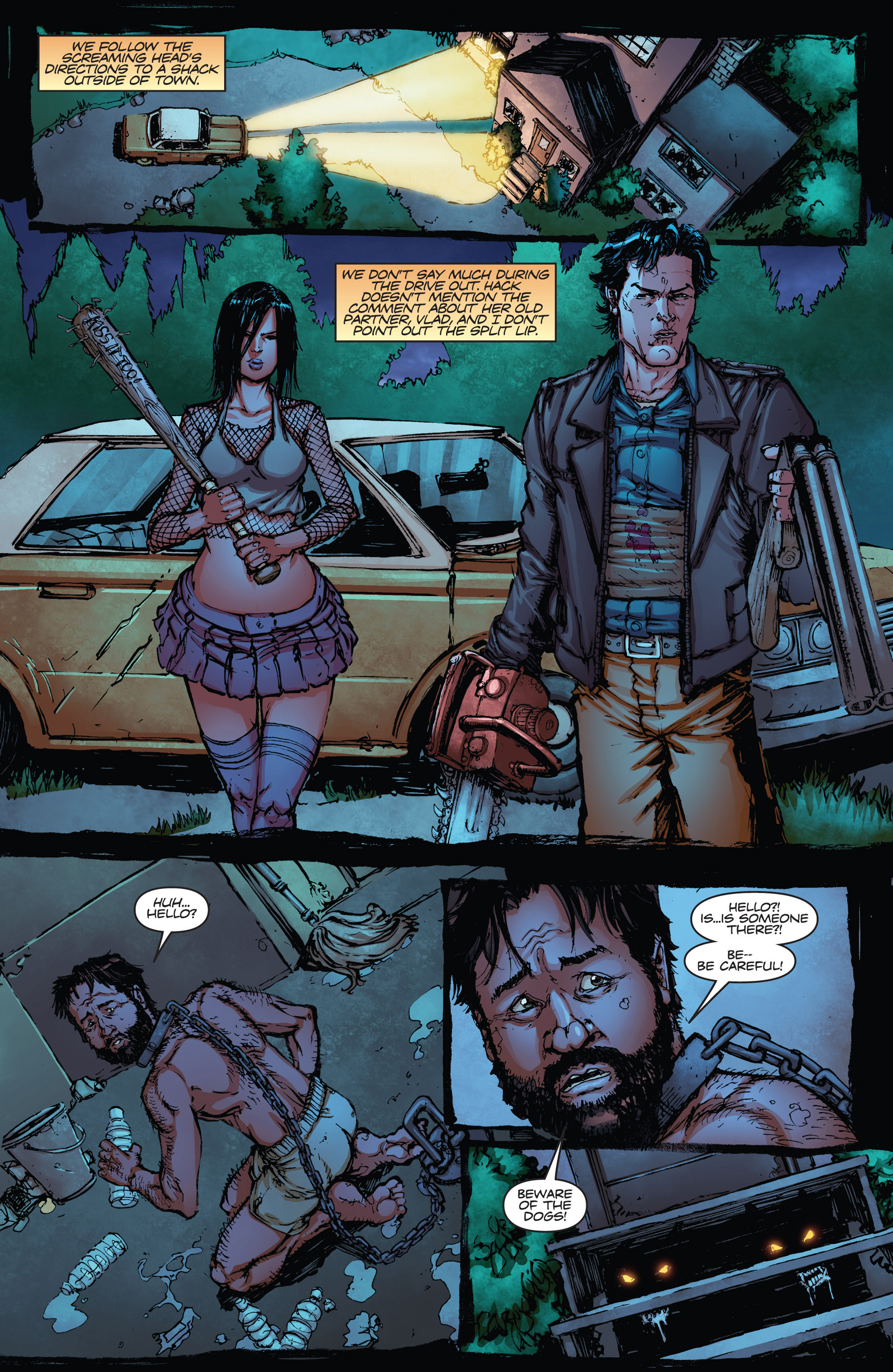 Read online Army of Darkness vs. Hack/Slash comic -  Issue #2 - 20
