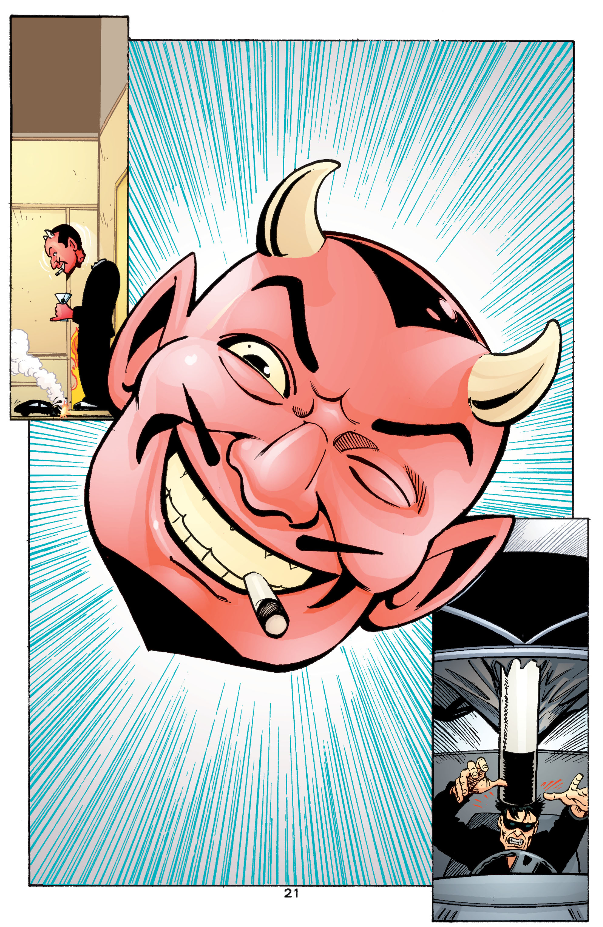 Read online Transmetropolitan comic -  Issue #55 - 22