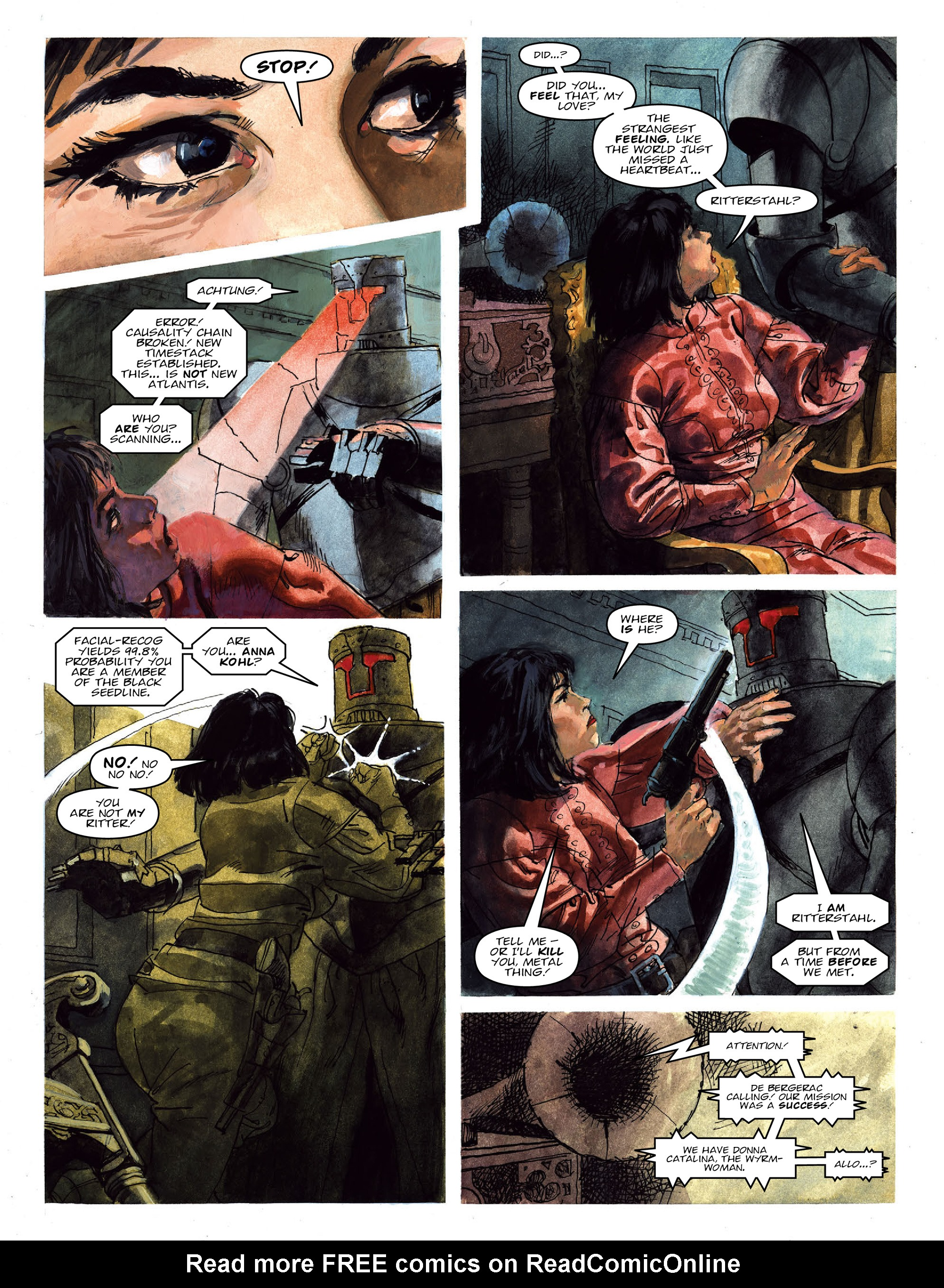 Read online 2000 AD comic -  Issue #2022 - 22