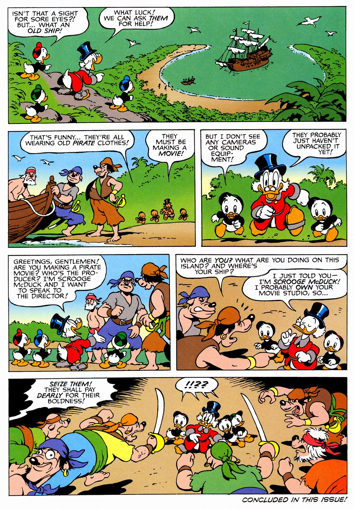 Read online Uncle Scrooge (1953) comic -  Issue #326 - 10