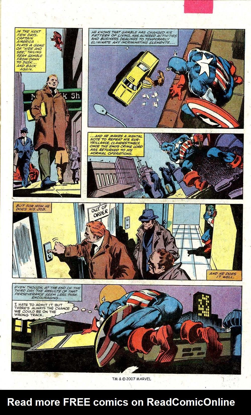 Read online Captain America (1968) comic -  Issue # _Annual 5 - 23